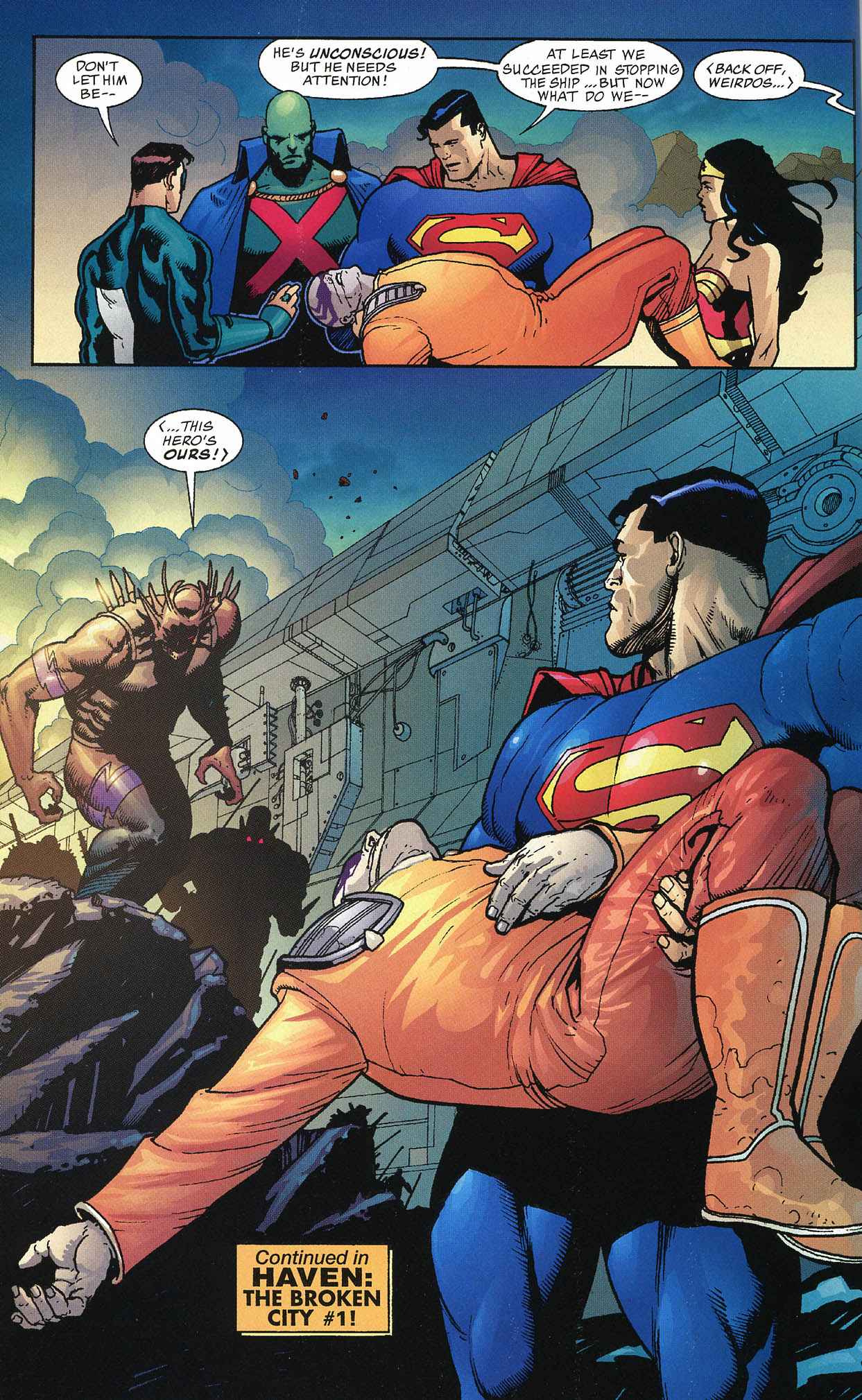 Read online JLA/Haven: Arrival comic -  Issue # Full - 47