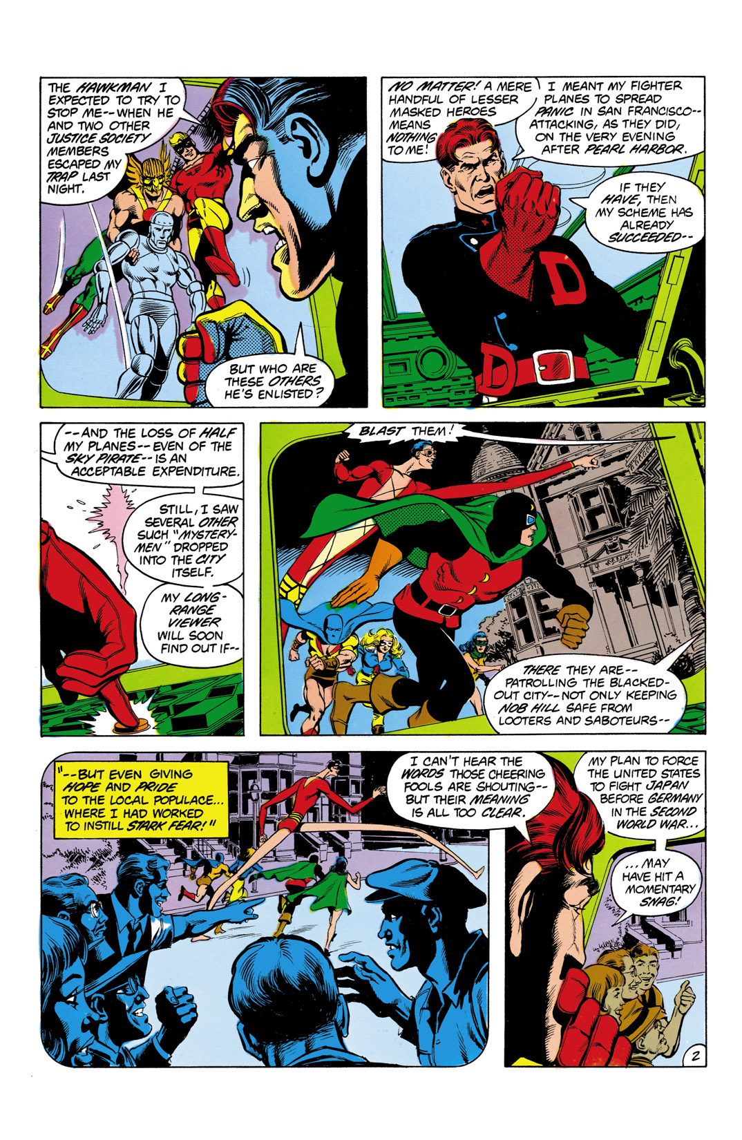 Read online All-Star Squadron comic -  Issue #3 - 3