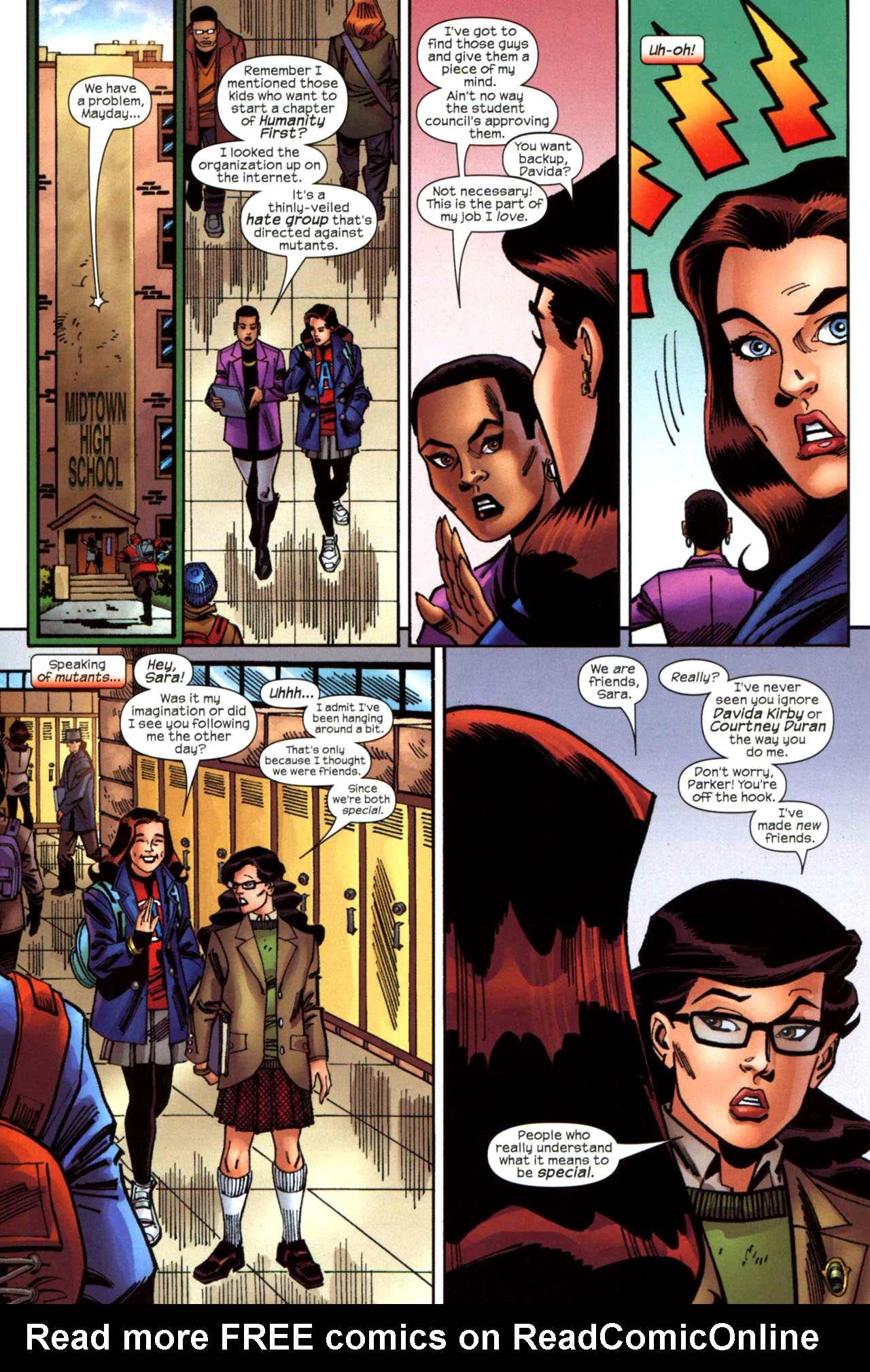 Read online Amazing Spider-Girl comic -  Issue #21 - 9