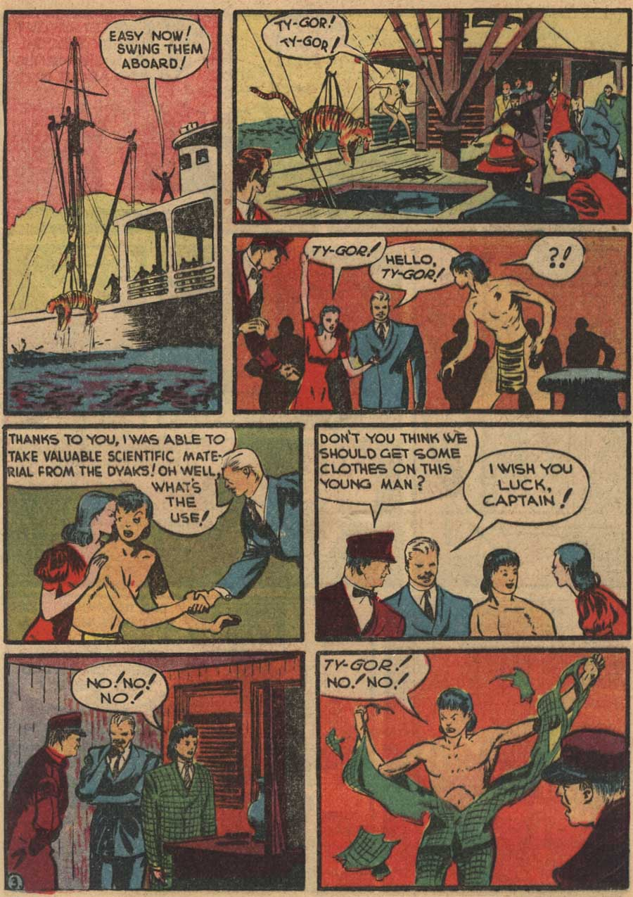 Blue Ribbon Comics (1939) issue 7 - Page 45