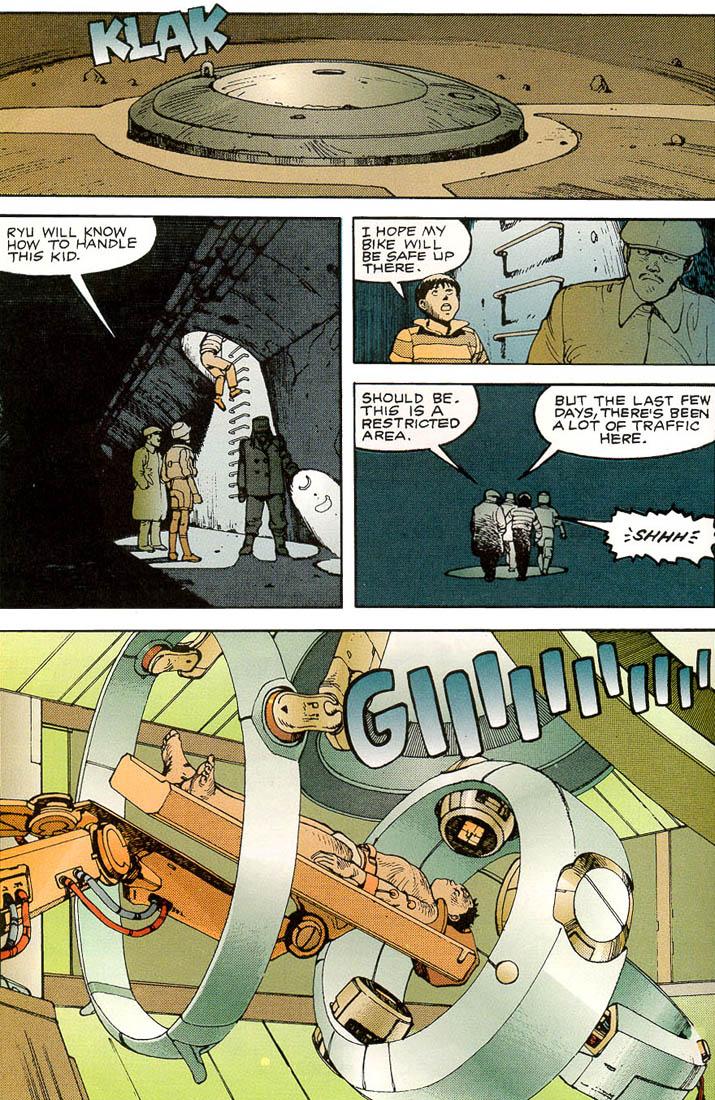 Read online Akira comic -  Issue #3 - 28