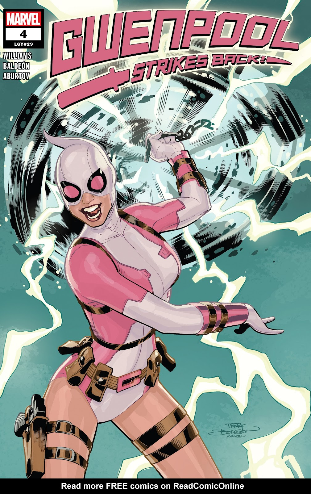 Gwenpool Strikes Back issue 4 - Page 1