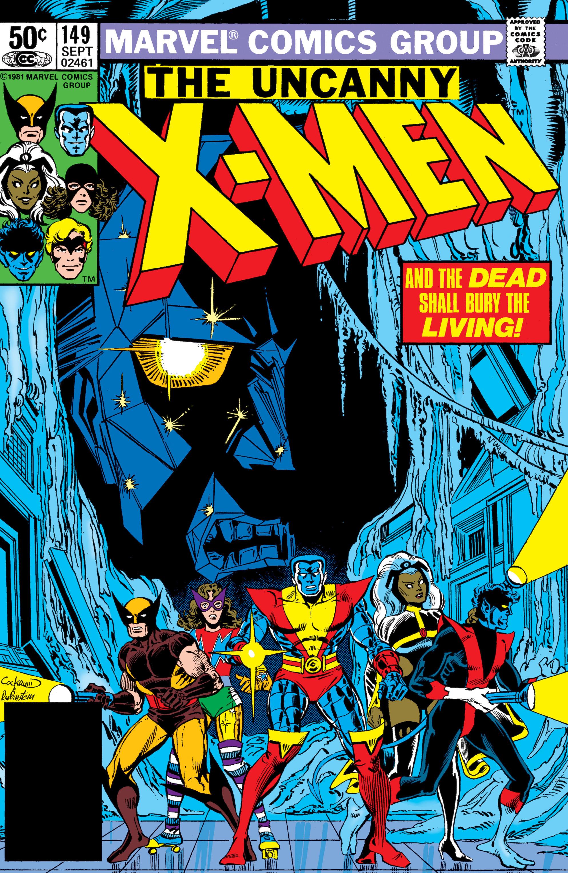 Uncanny X-Men (1963) 149 Page 1