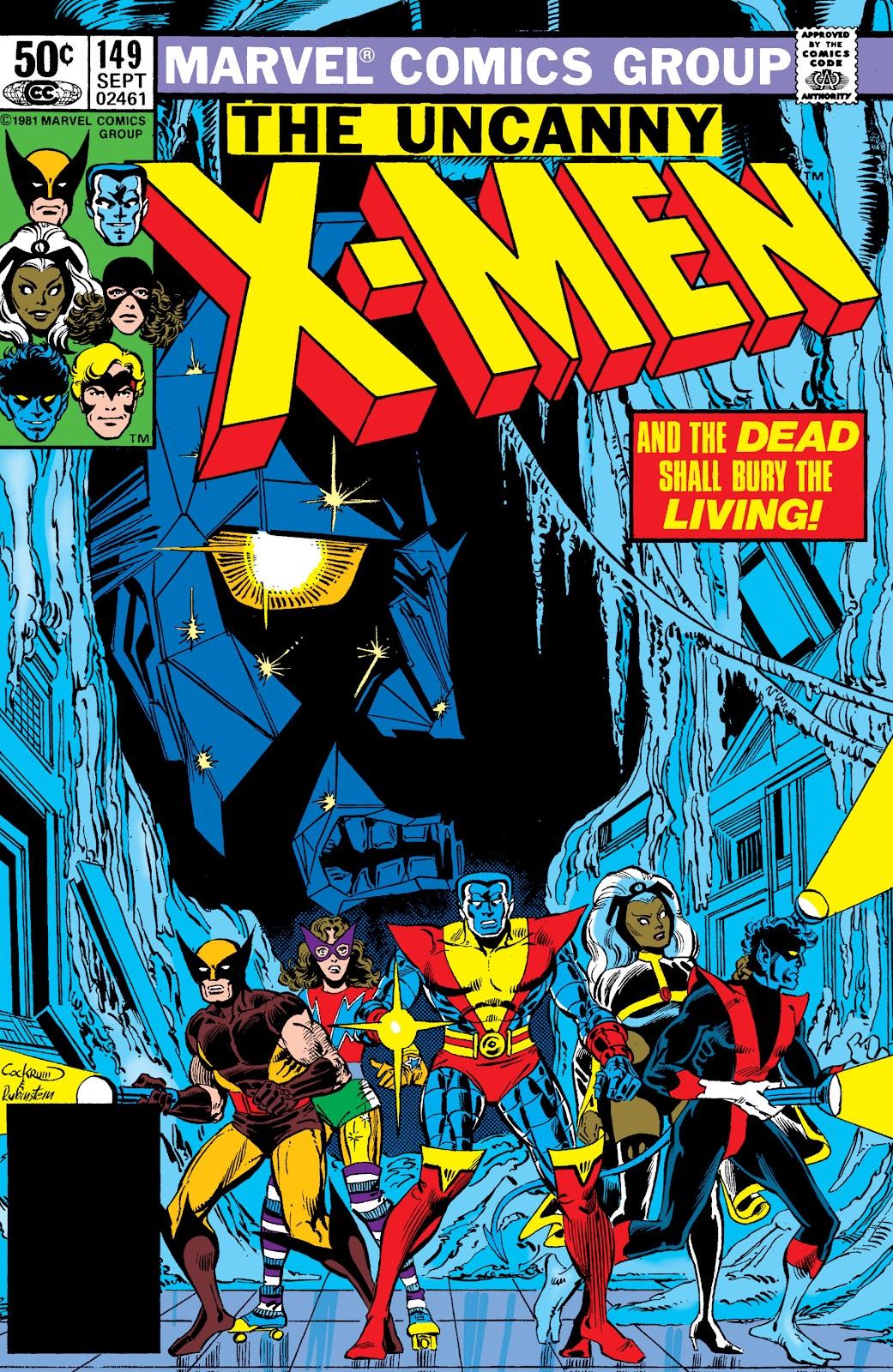 Uncanny X-Men (1963) issue 149 - Page 1