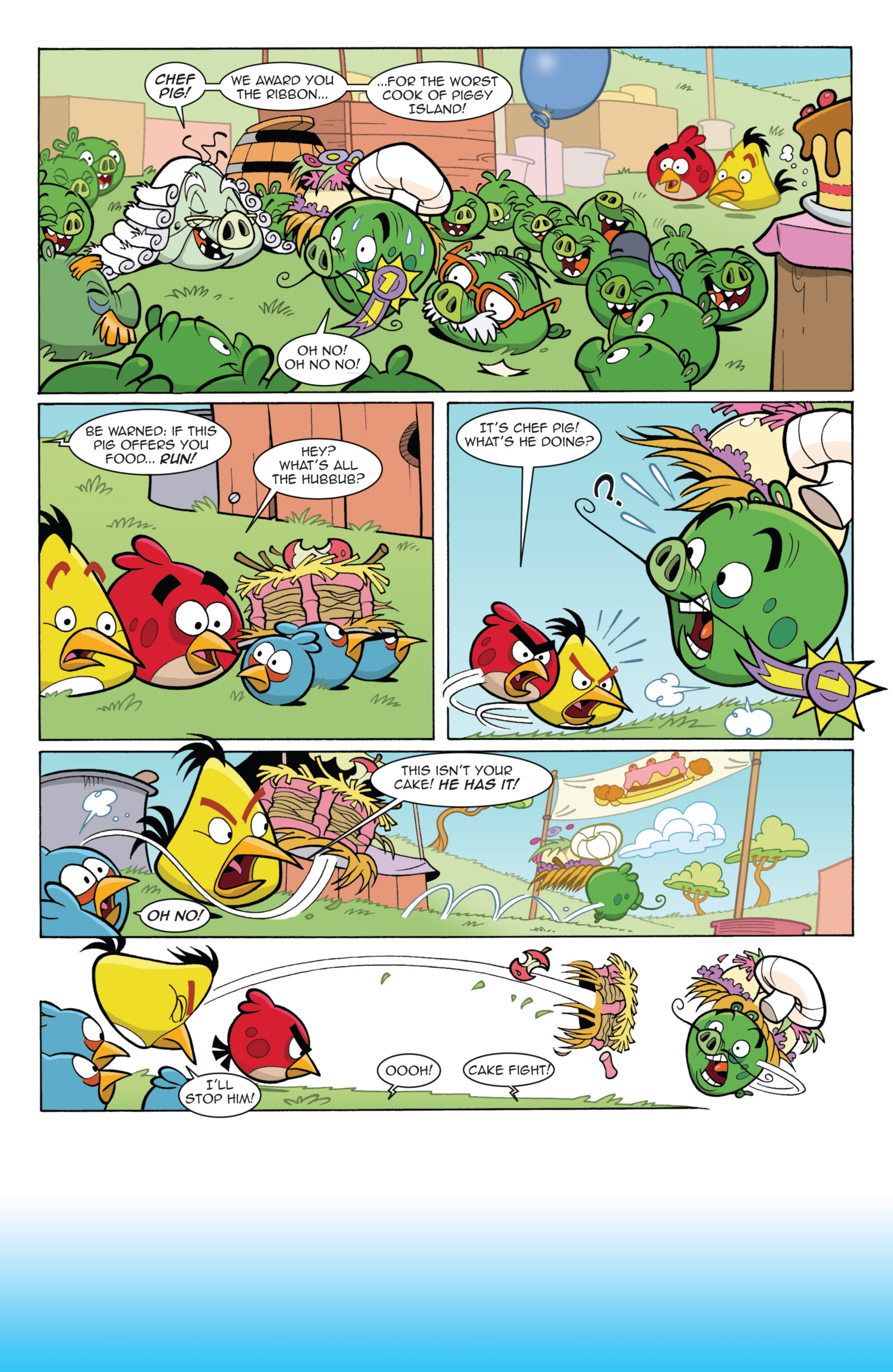 Read online Angry Birds Comics (2014) comic -  Issue #11 - 20