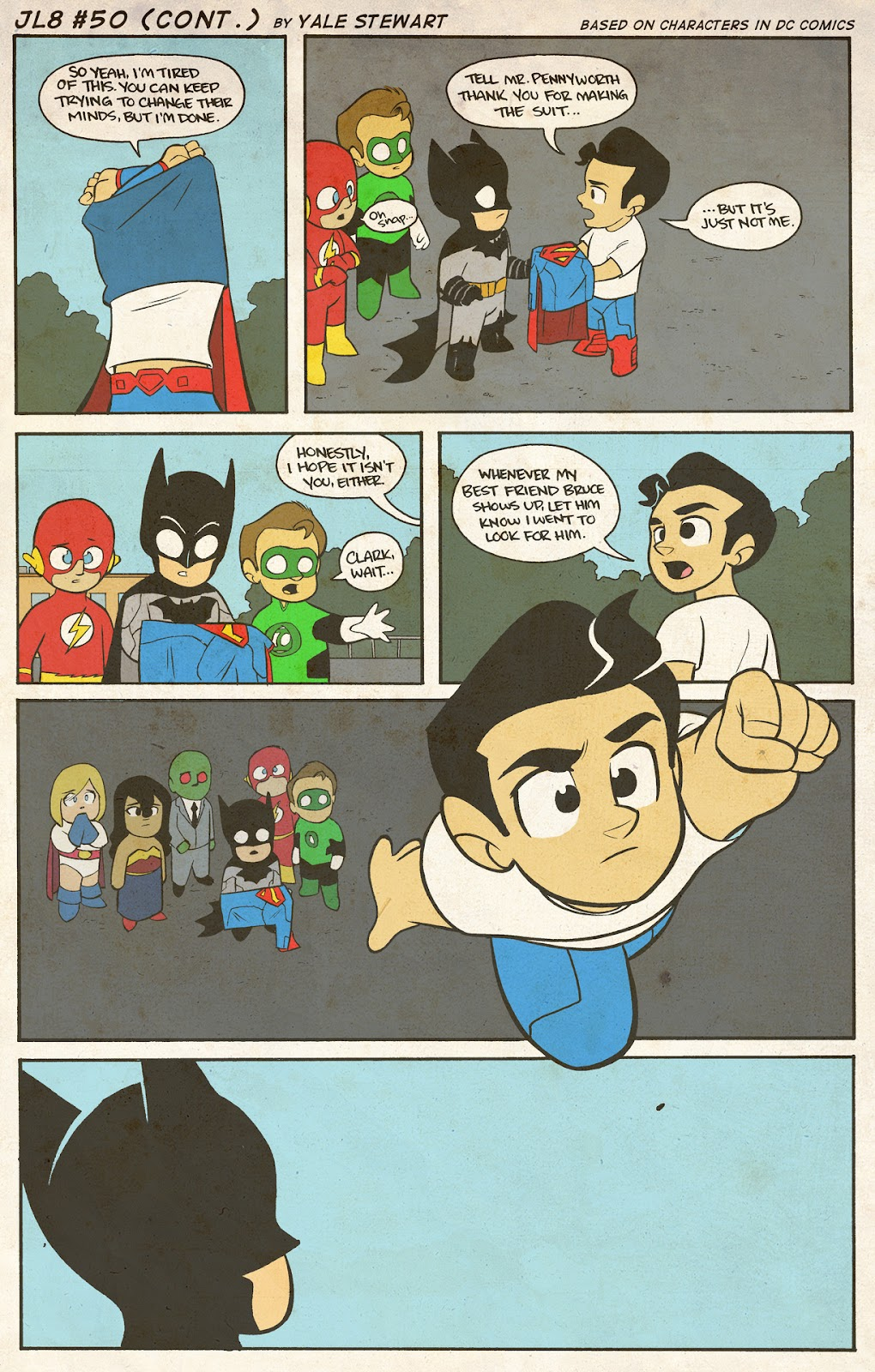 Read online JL8 – The Complete Collection comic -  Issue # TPB (Part 1) - 24