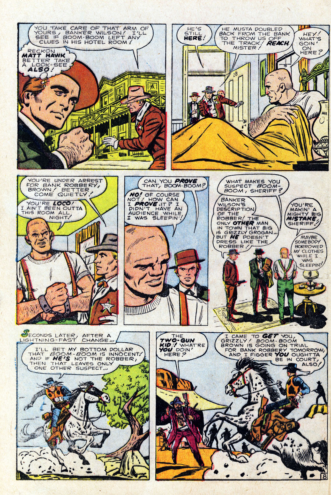 Read online Two-Gun Kid comic -  Issue #64 - 12