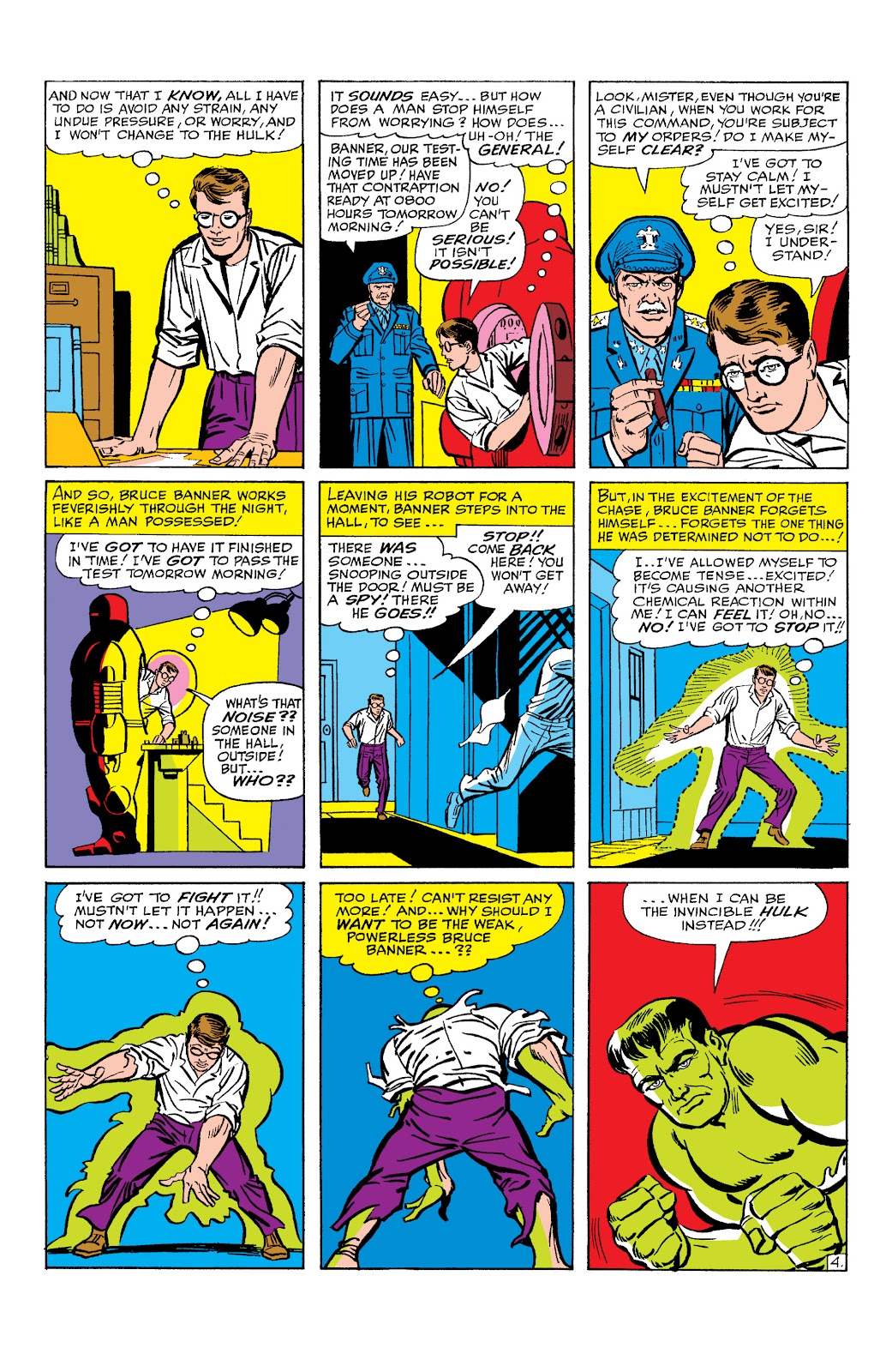 Read online Marvel Masterworks: The Incredible Hulk comic -  Issue # TPB 2 (Part 1) - 27