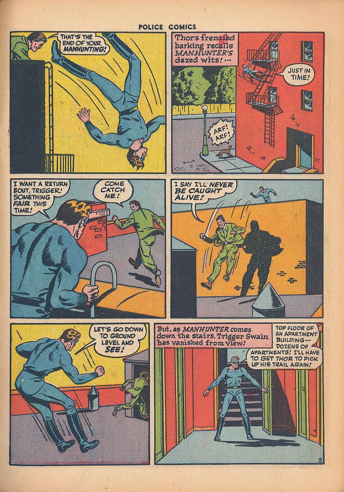 Police Comics issue 44 - Page 23