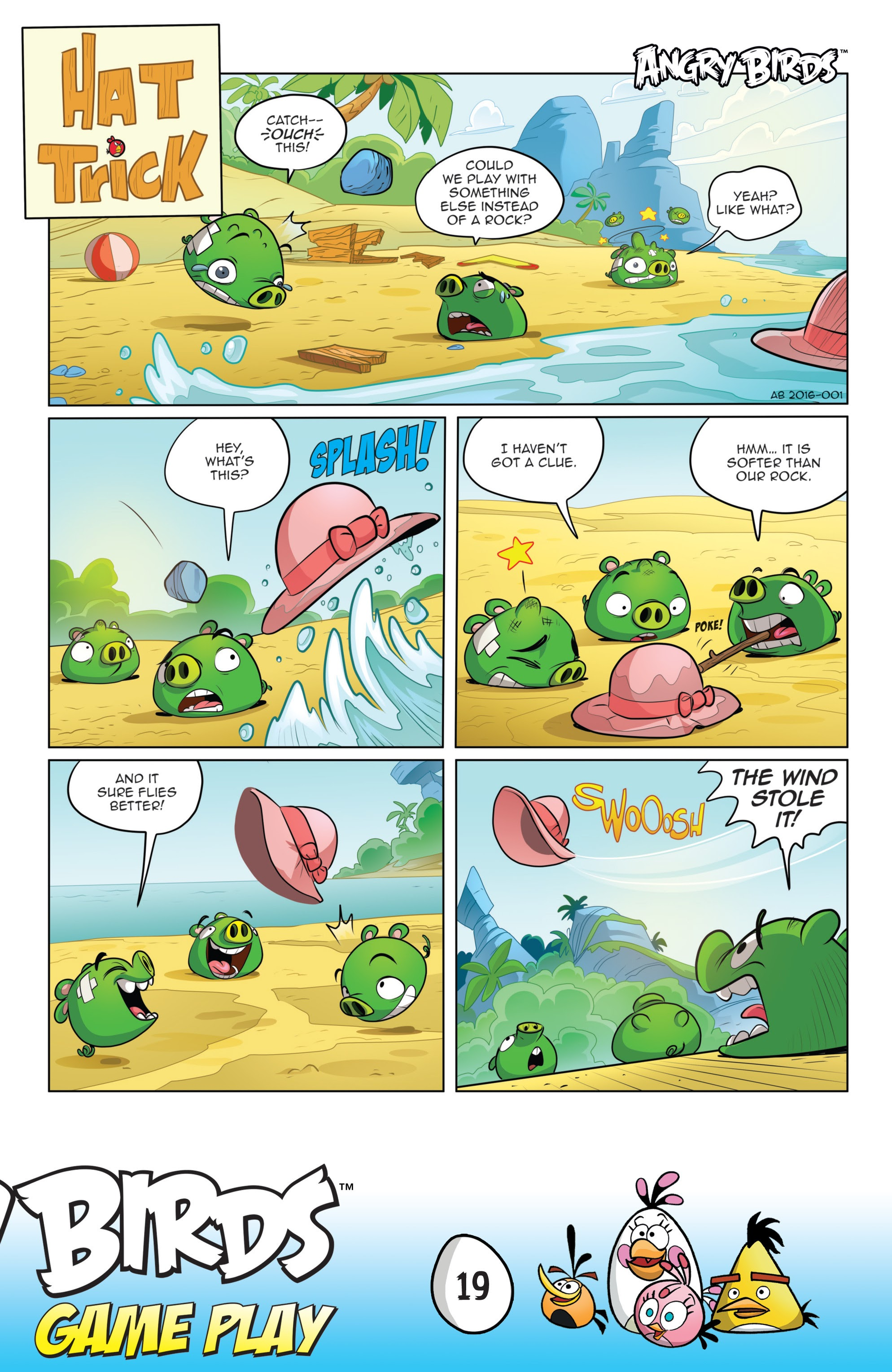 Read online Angry Birds Comics: Game Play comic -  Issue #1 - 21