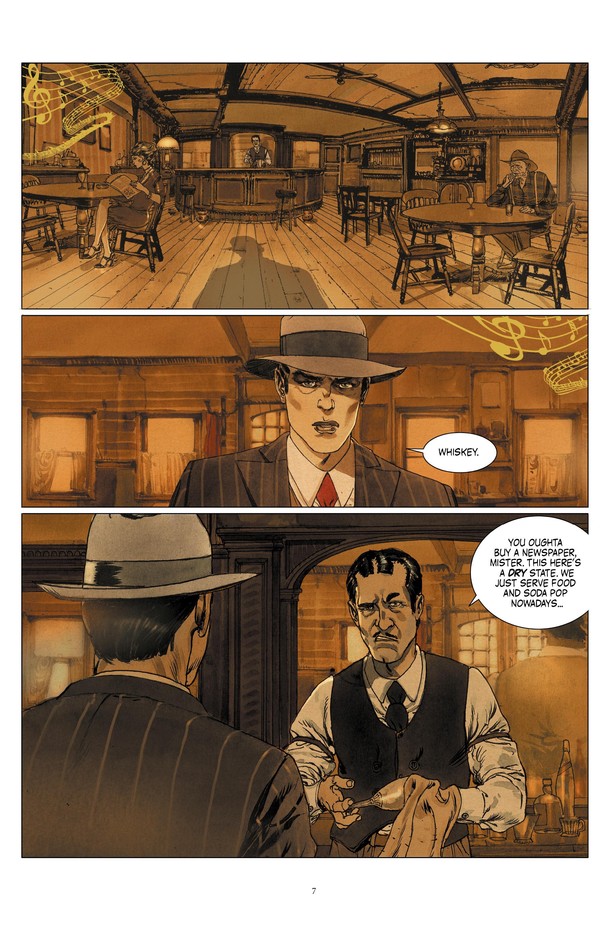 Read online Triggerman comic -  Issue #1 - 12