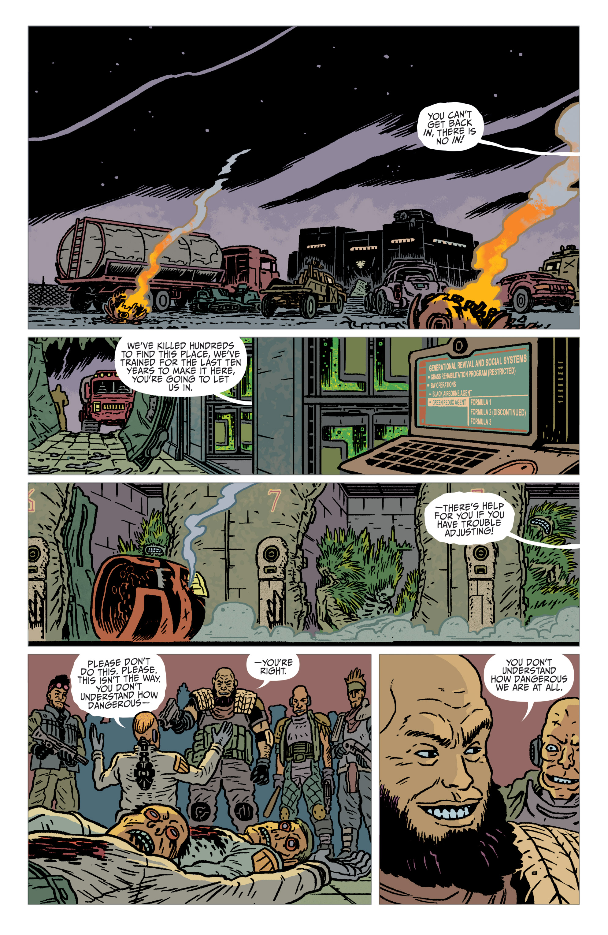 Read online Judge Dredd: The Blessed Earth comic -  Issue #2 - 5
