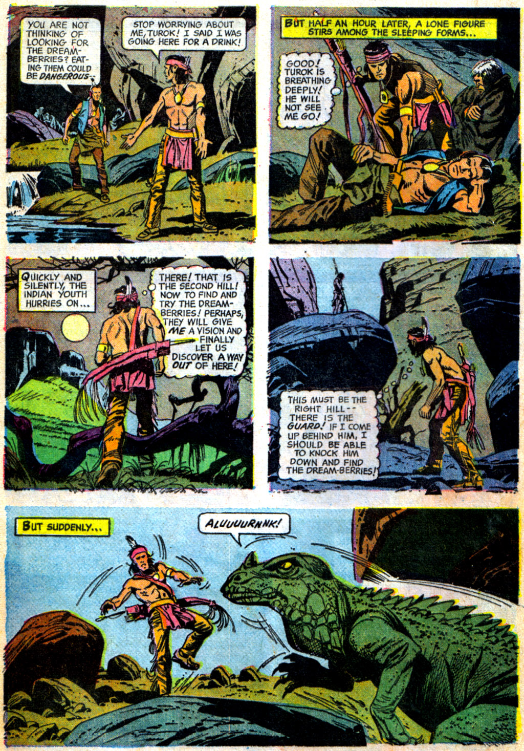 Read online Turok, Son of Stone comic -  Issue #62 - 8