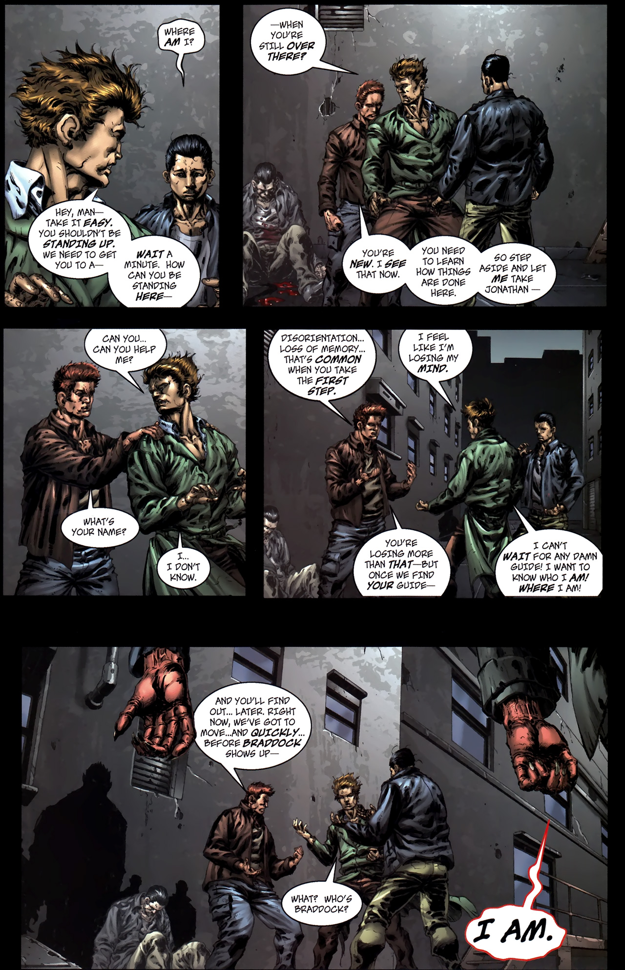 Read online The Grim Ghost comic -  Issue #0 - 9