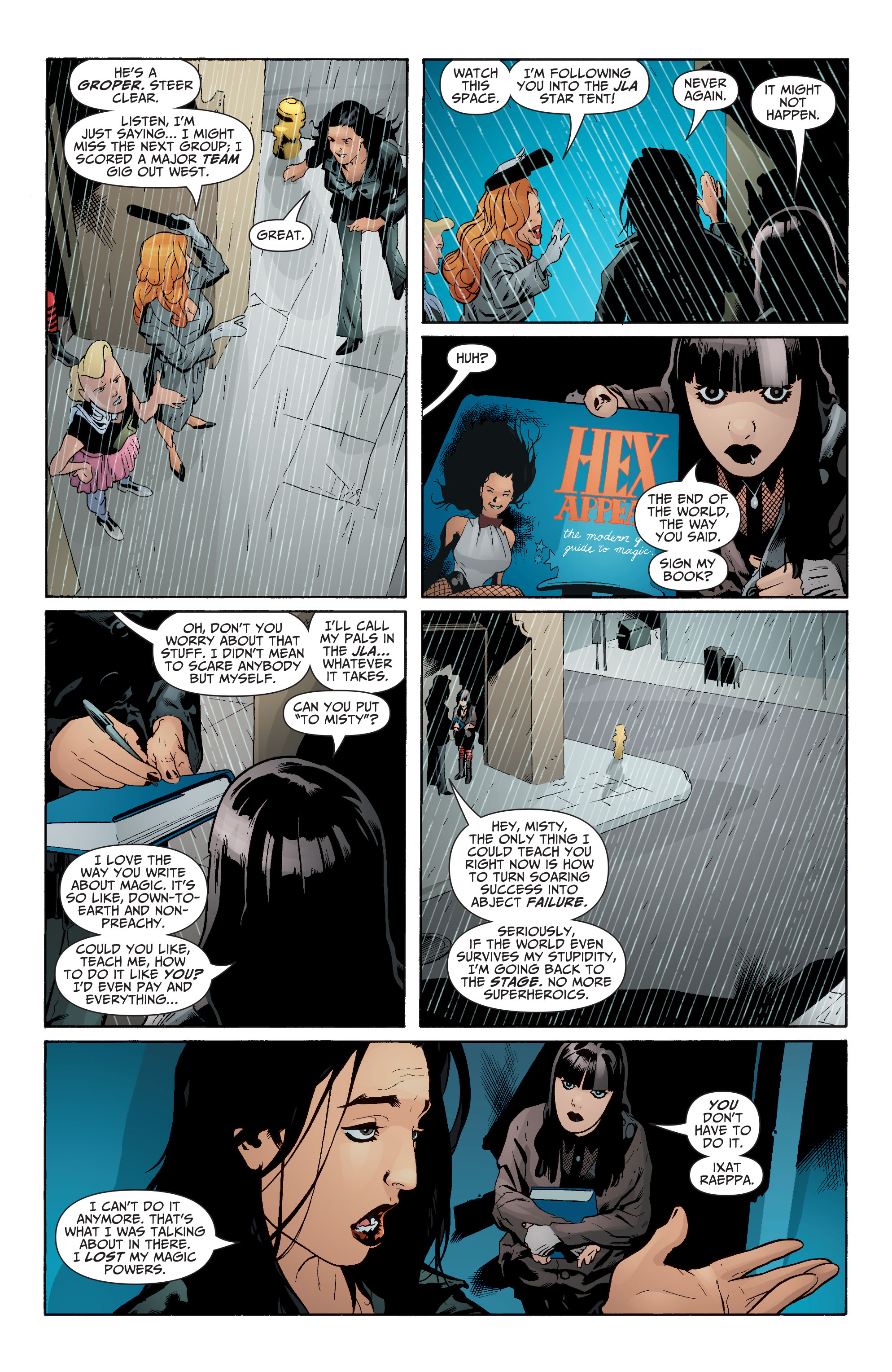 Read online Seven Soldiers: Zatanna comic -  Issue #1 - 20