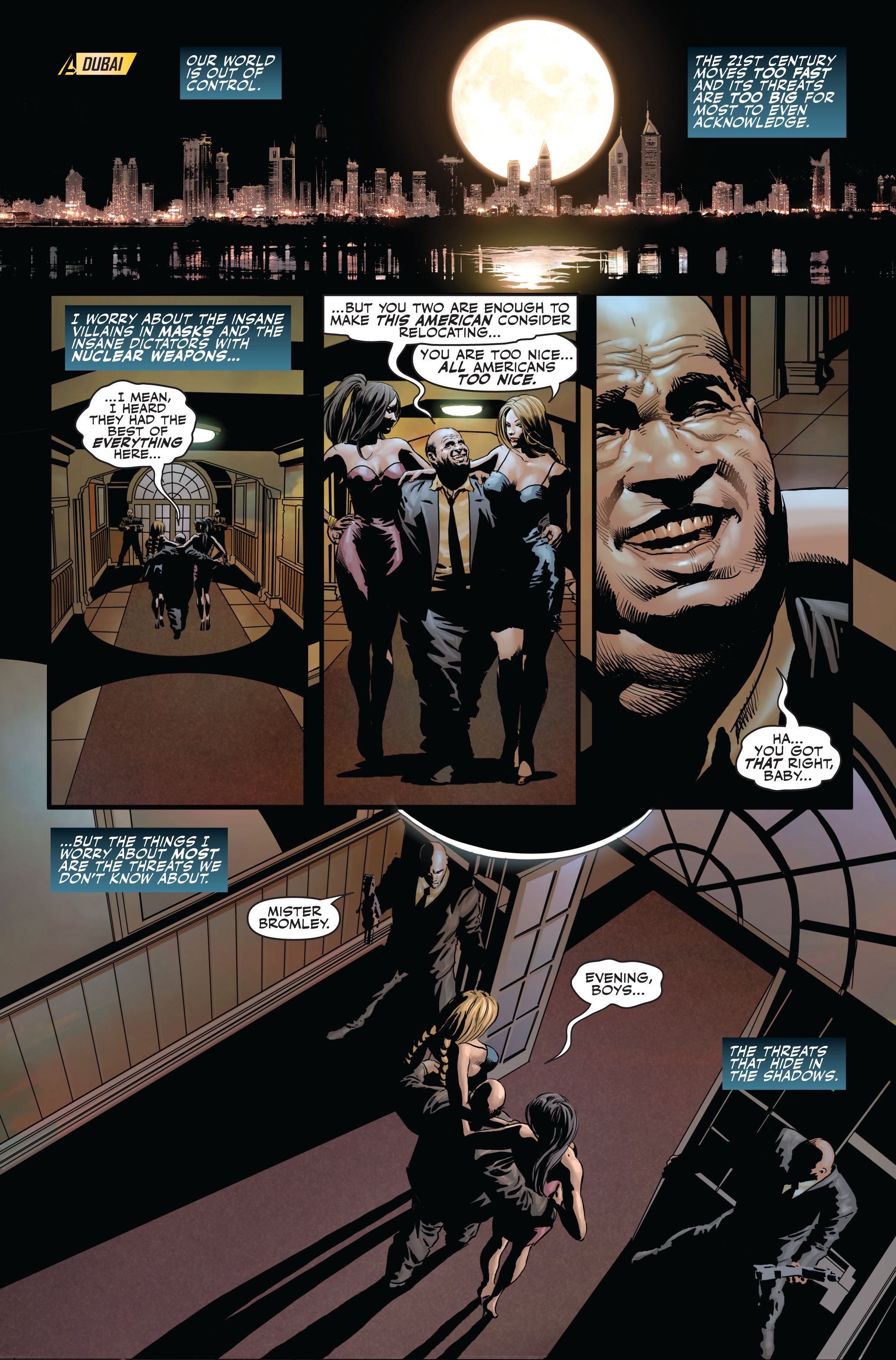 Read online Secret Avengers (2010) comic -  Issue #1 - 2