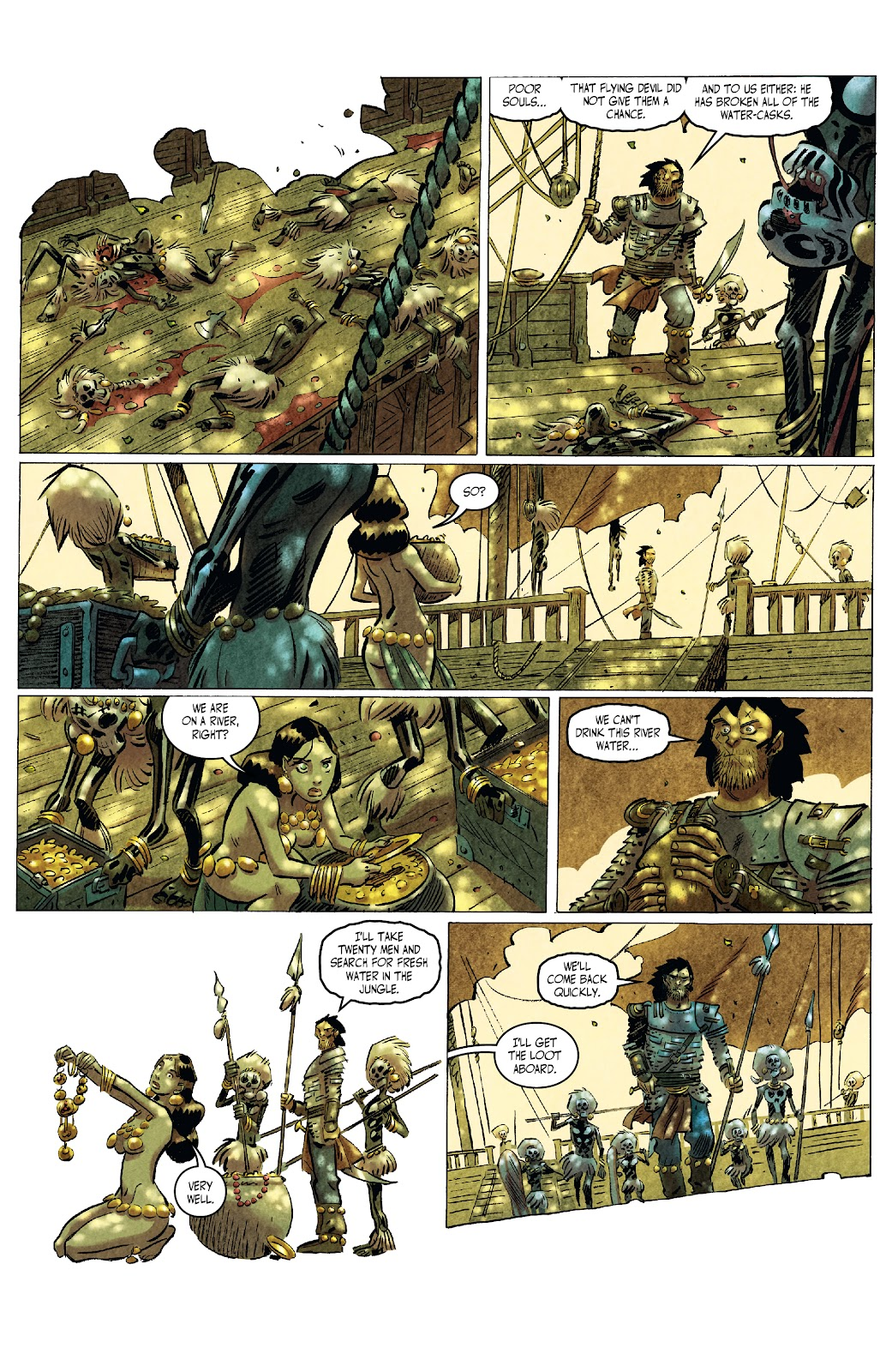 The Cimmerian: Queen of the Black Coast issue 2 - Page 9