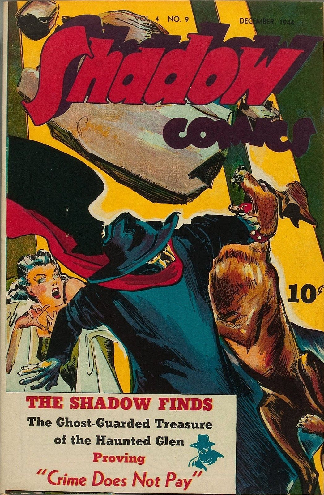Shadow Comics 45 Page 1