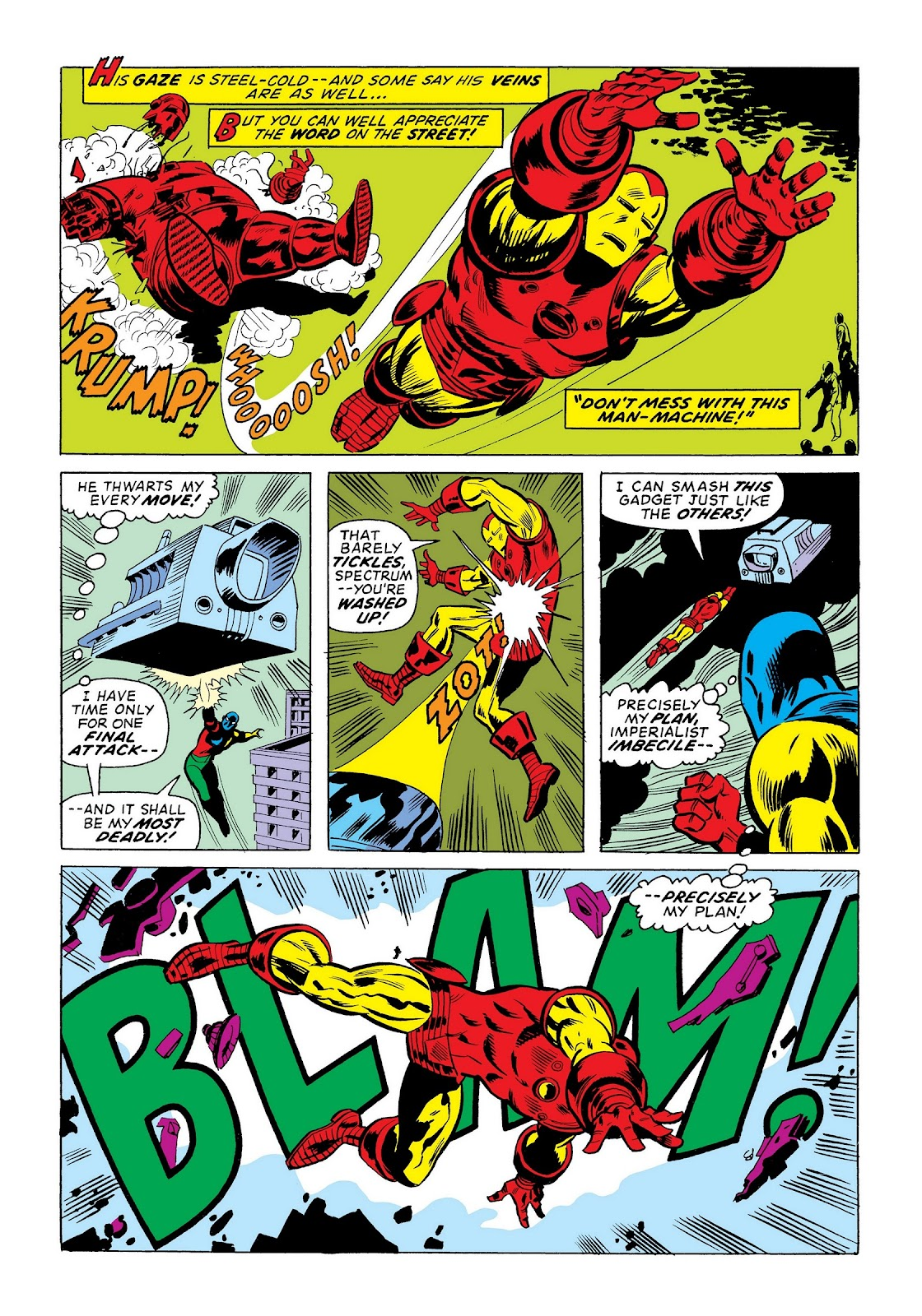 Read online Marvel Masterworks: The Invincible Iron Man comic -  Issue # TPB 9 (Part 3) - 66