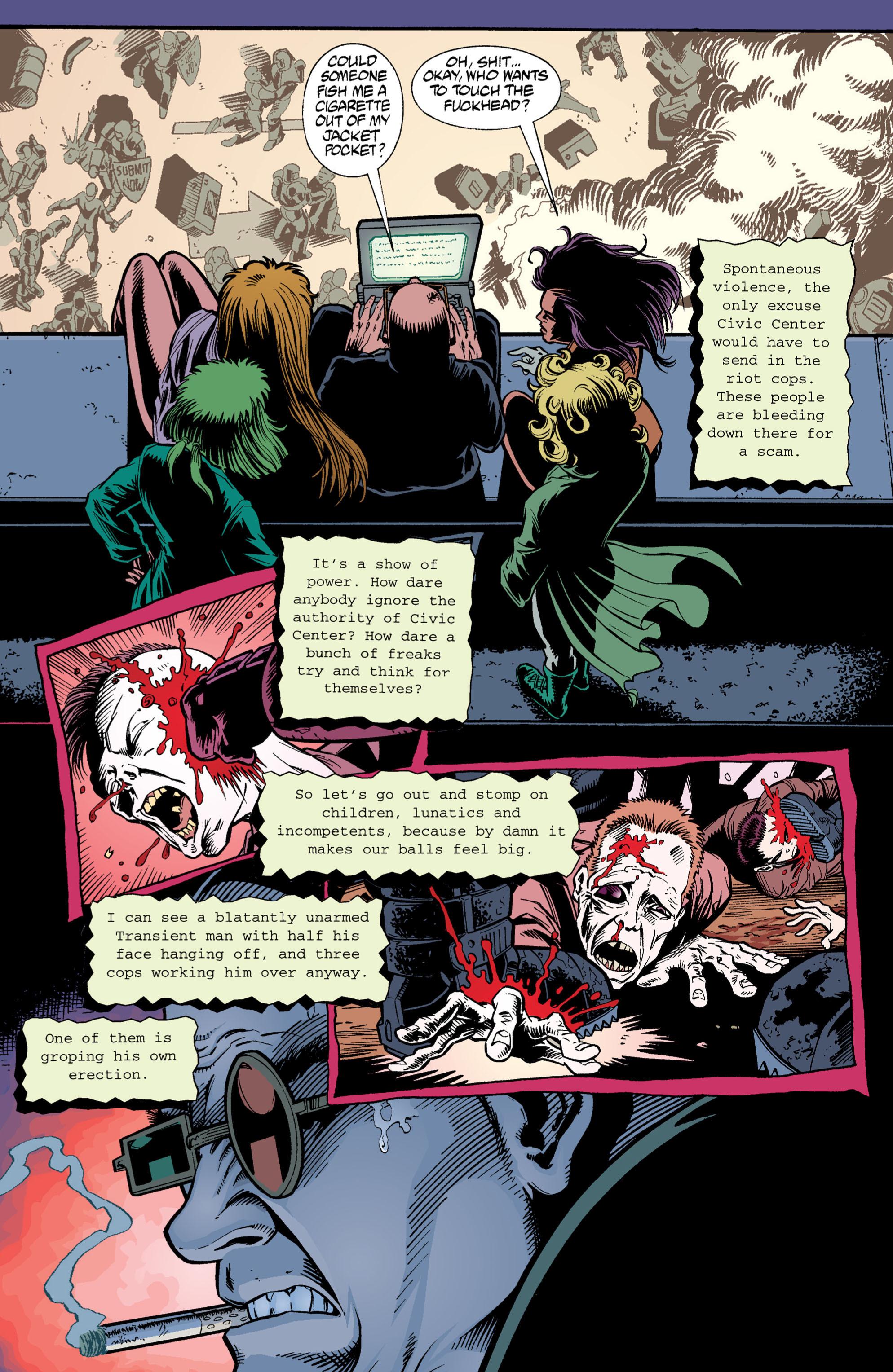 Read online Transmetropolitan comic -  Issue #3 - 13