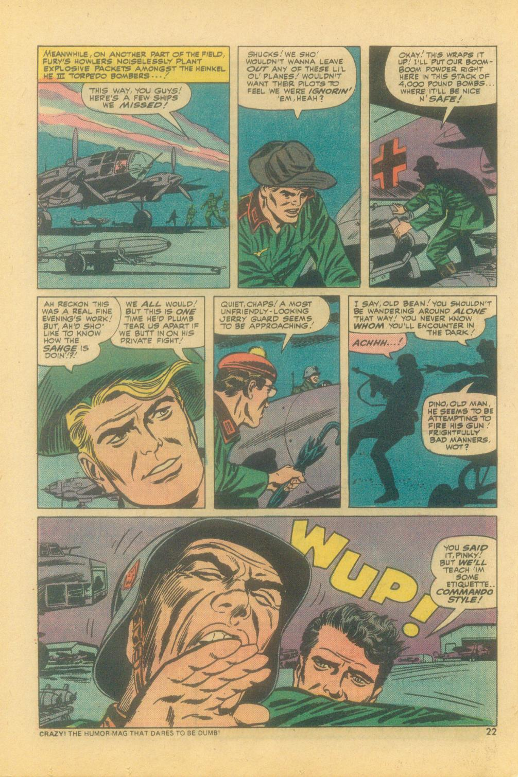 Read online Sgt. Fury comic -  Issue #121 - 24