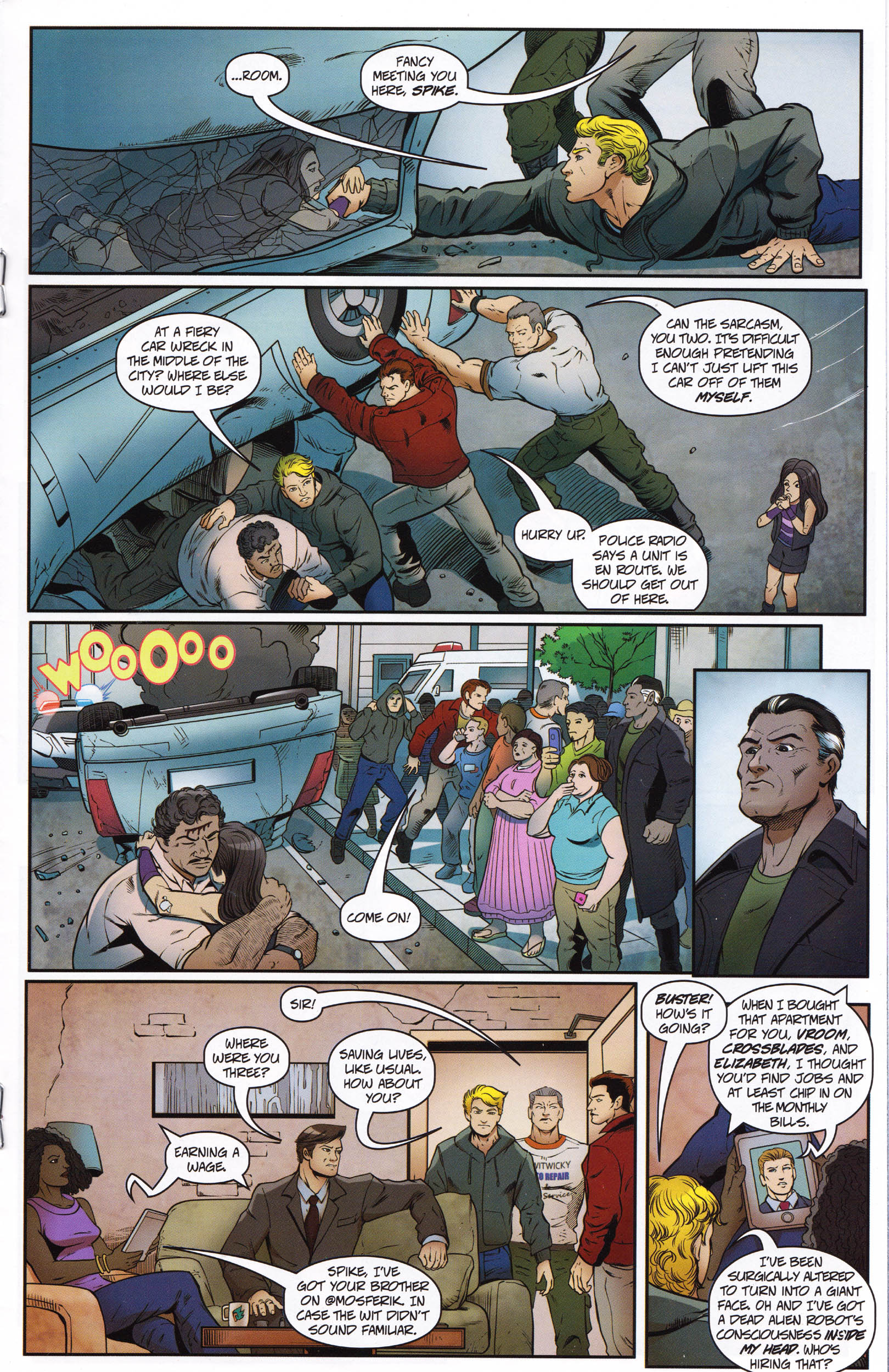 Read online Transformers: Collectors' Club comic -  Issue #67 - 9
