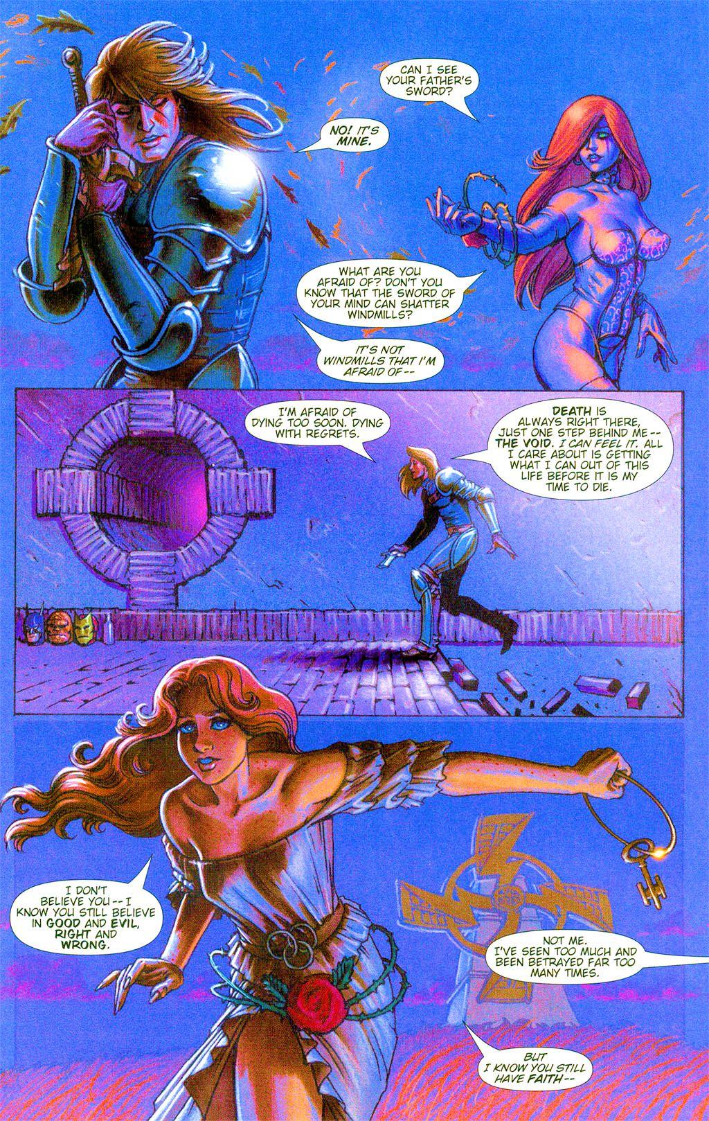 Read online Dawn: Three Tiers comic -  Issue #3 - 6