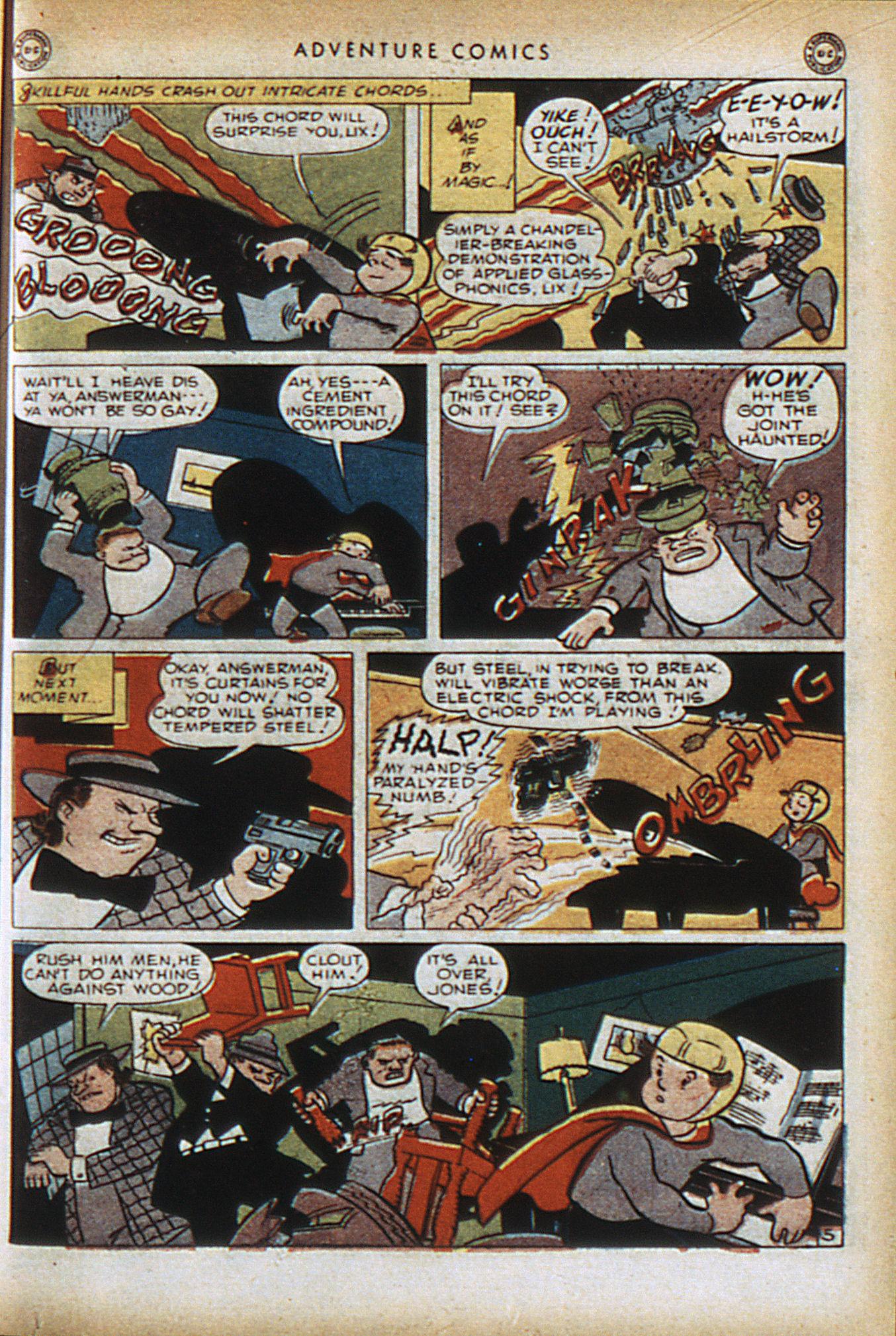 Read online Adventure Comics (1938) comic -  Issue #96 - 30