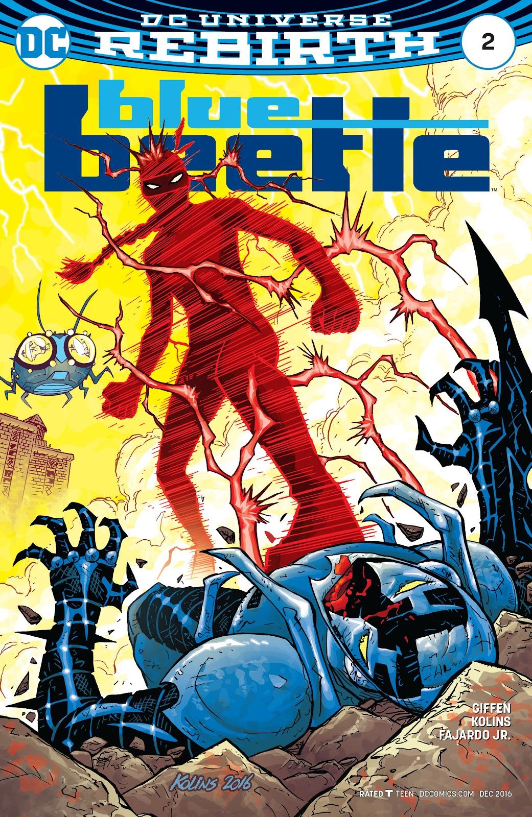 Blue Beetle (2016) 2 Page 1