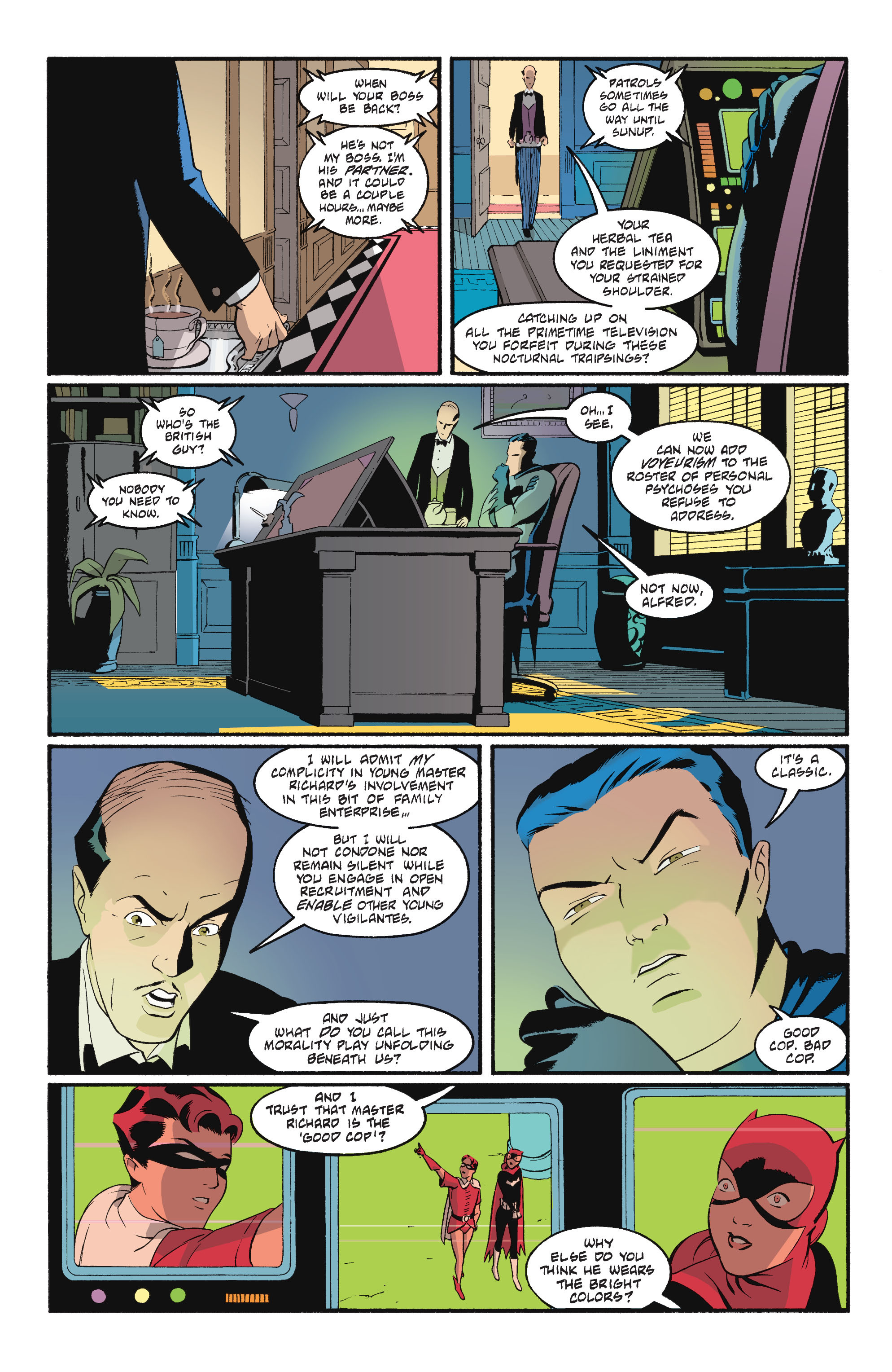 Read online Batgirl/Robin: Year One comic -  Issue # TPB 2 - 72