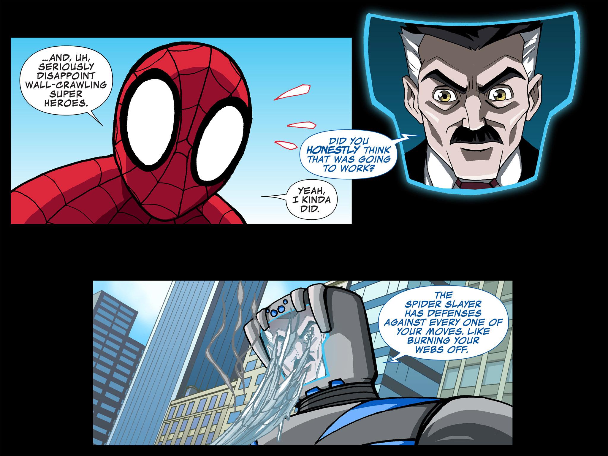 Read online Ultimate Spider-Man (Infinite Comics) (2015) comic -  Issue #4 - 5