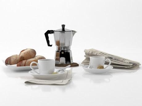 [3Dsmax] 3D model free - Coffee cups