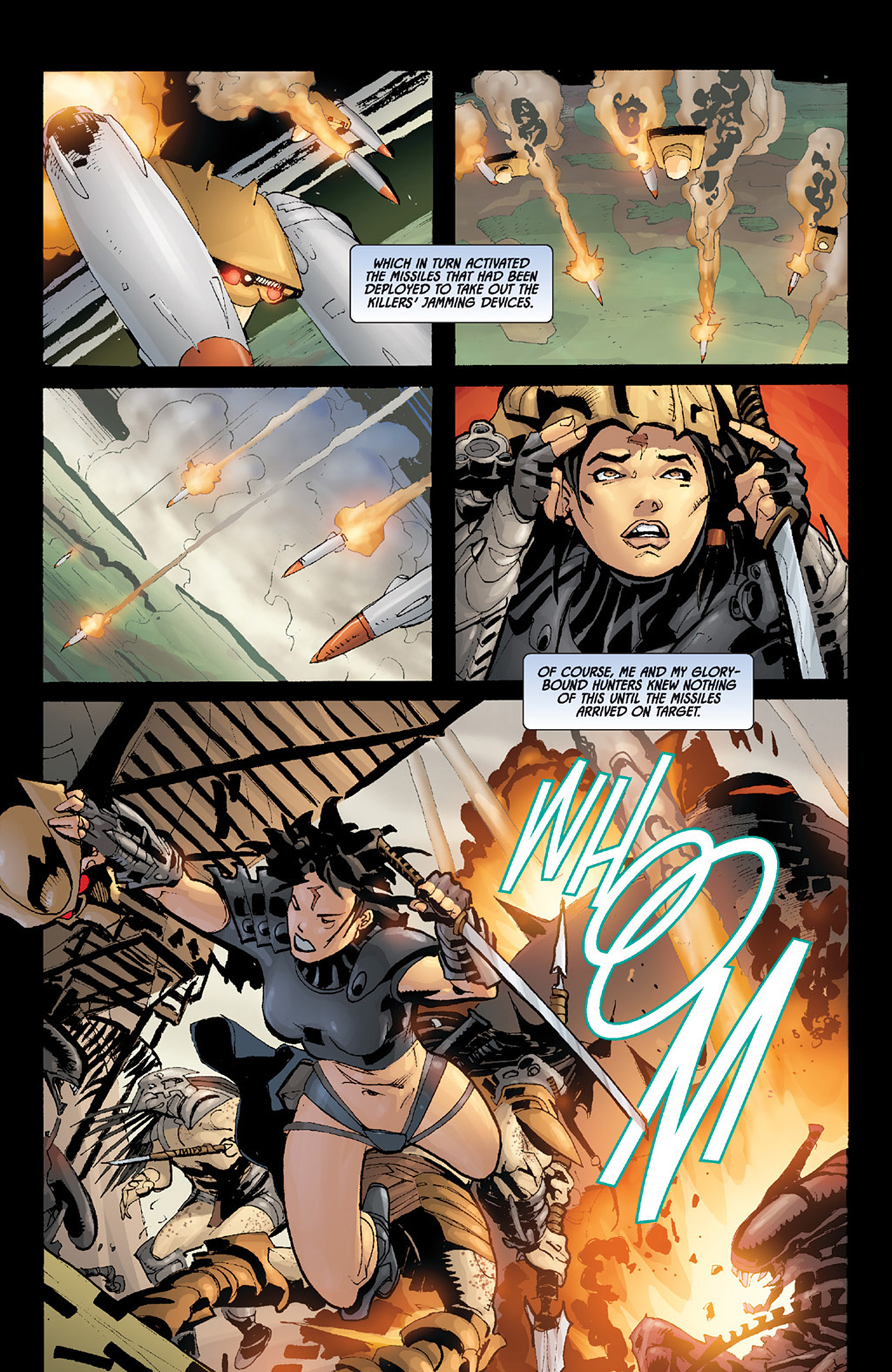 Read online Aliens vs. Predator: Three World War comic -  Issue #6 - 16