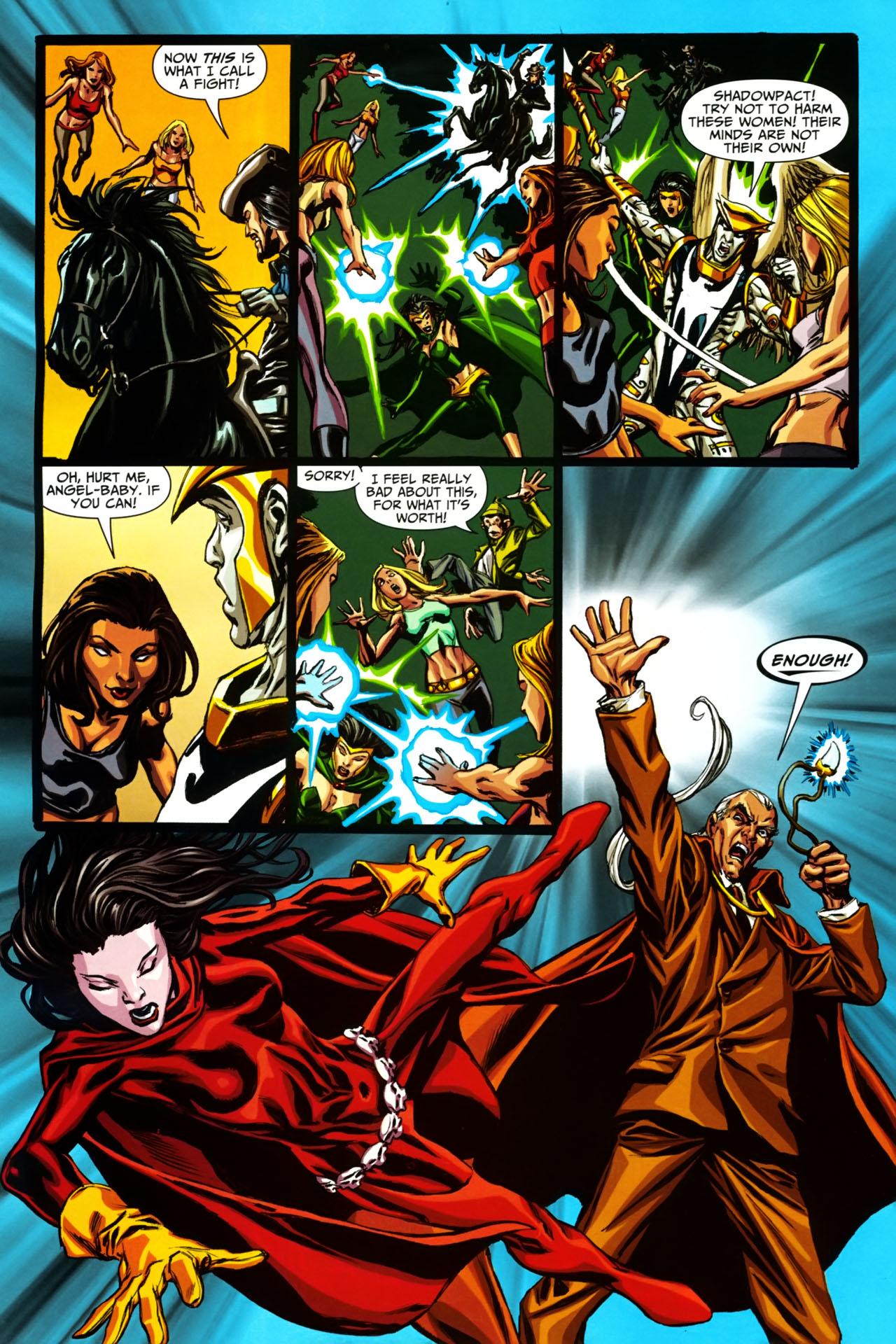 Read online Shadowpact comic -  Issue #19 - 18
