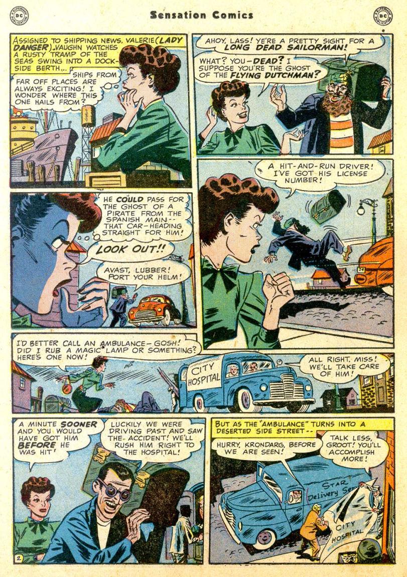 Read online Sensation (Mystery) Comics comic -  Issue #85 - 17