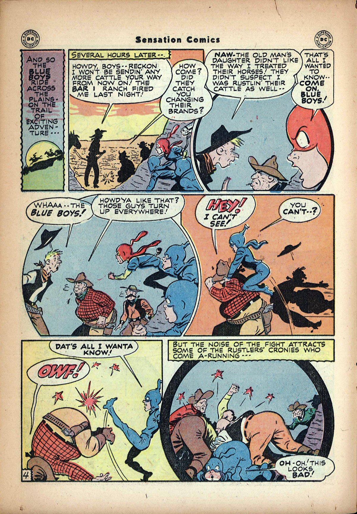 Read online Sensation (Mystery) Comics comic -  Issue #62 - 20