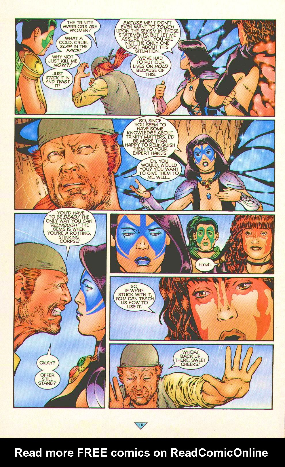 Read online Trinity Angels comic -  Issue #5 - 8