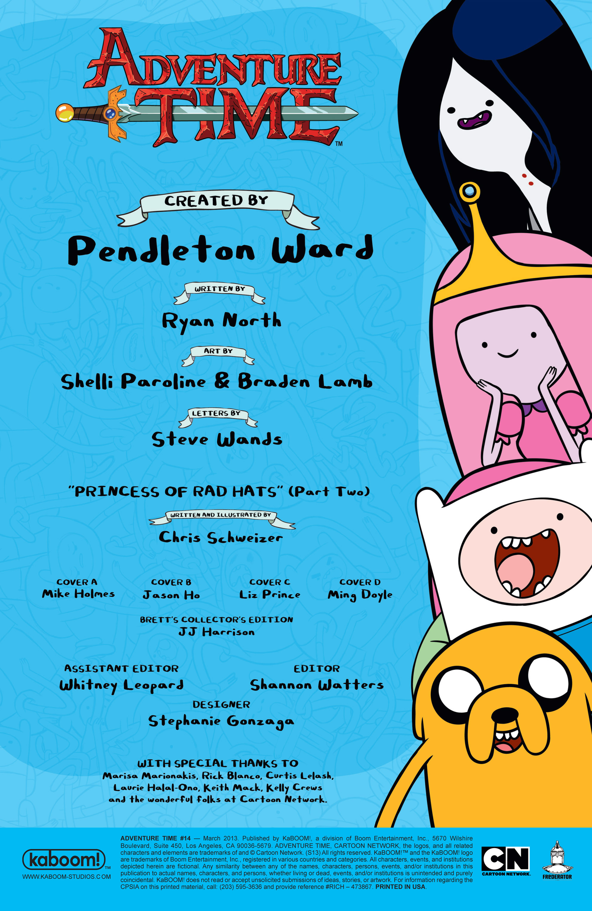 Read online Adventure Time comic -  Issue #14 - 3