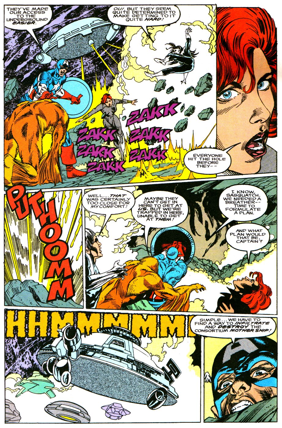 Read online Alpha Flight Special comic -  Issue #4 - 5