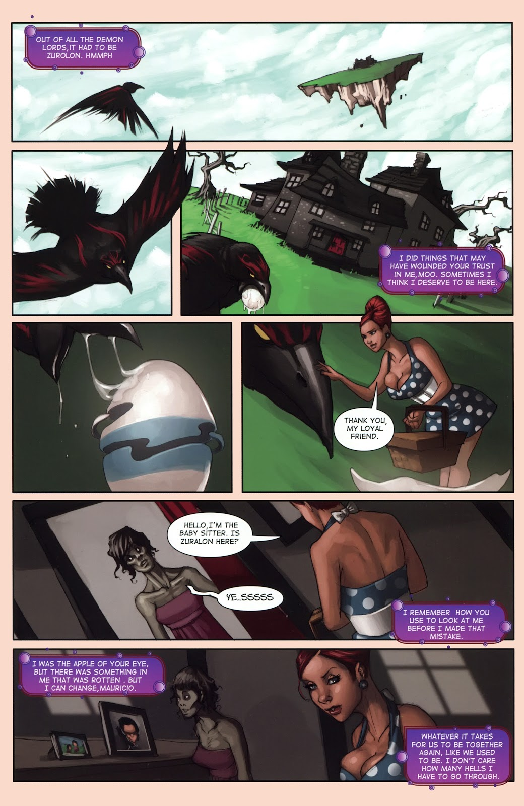 Read online Vescell comic -  Issue #1 - 31