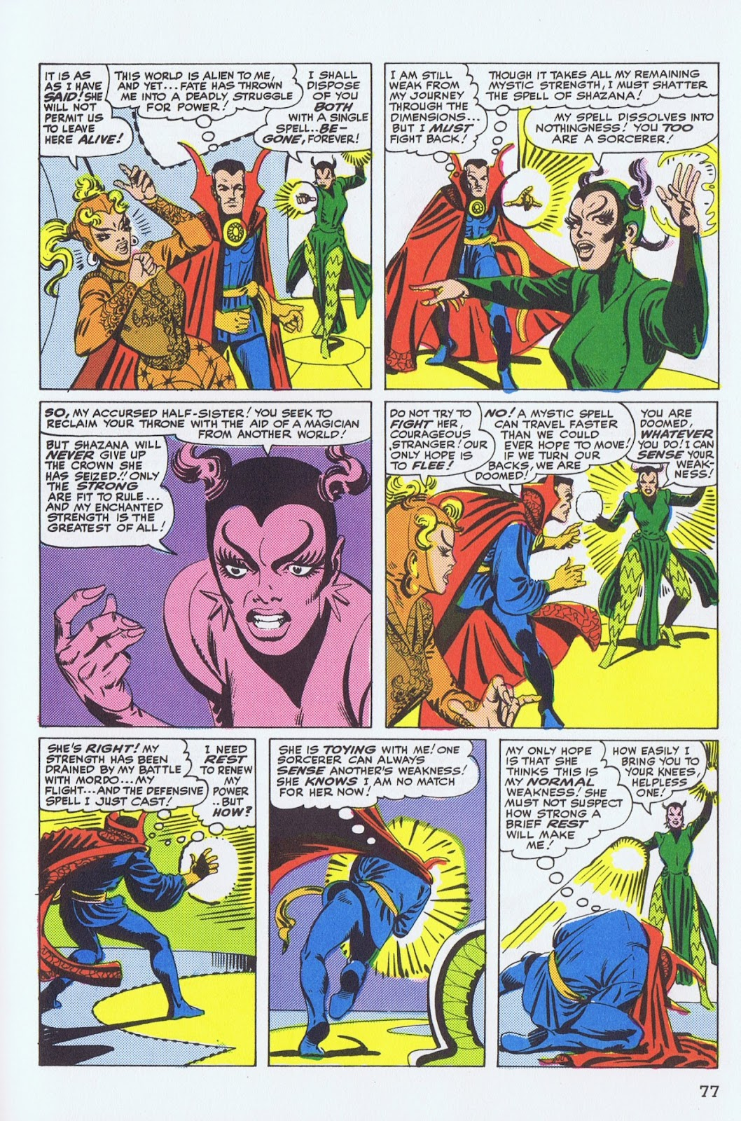 Doctor Strange: Master of the Mystic Arts issue TPB - Page 73