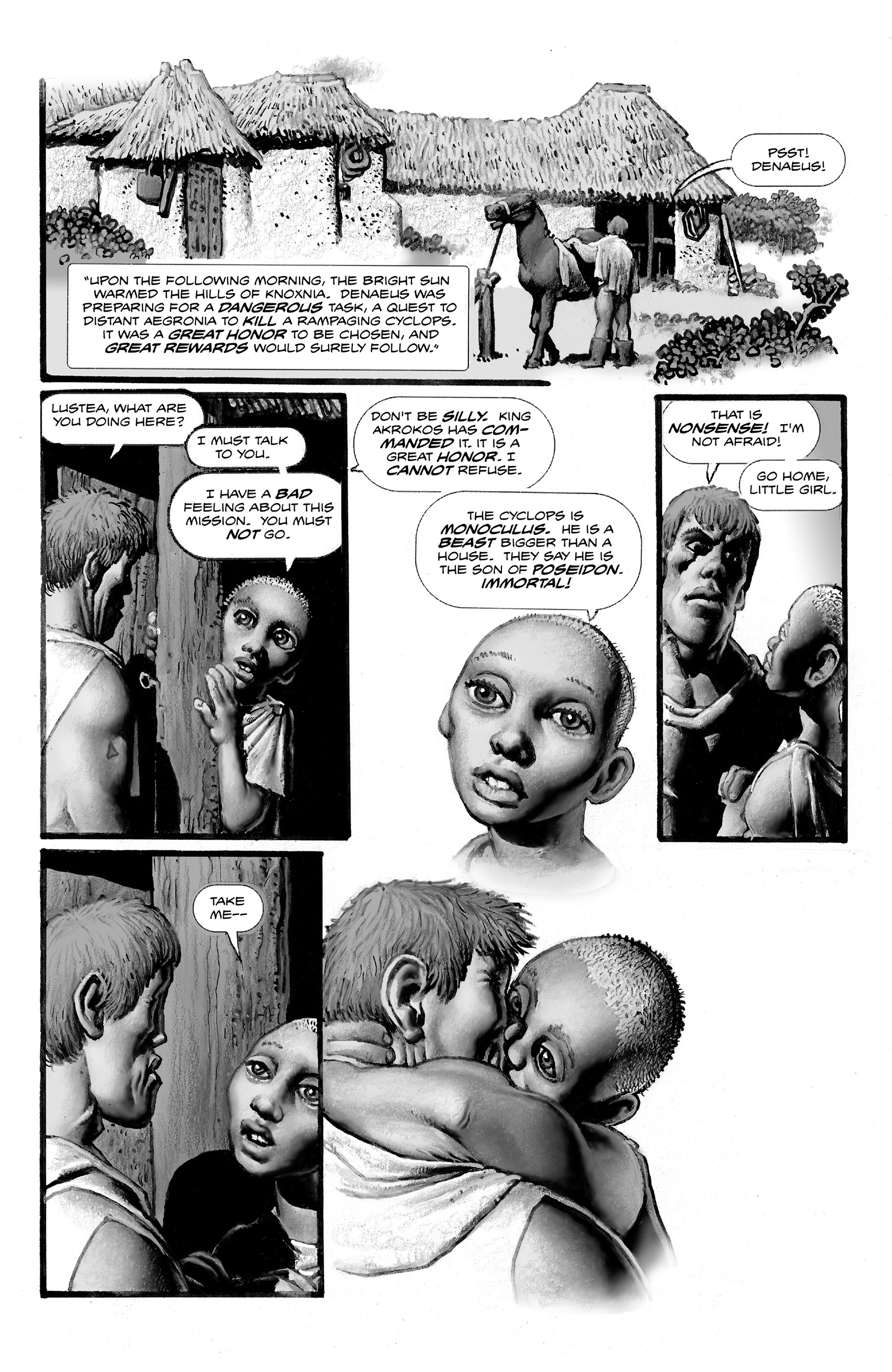 Read online Shadows on the Grave comic -  Issue #2 - 32