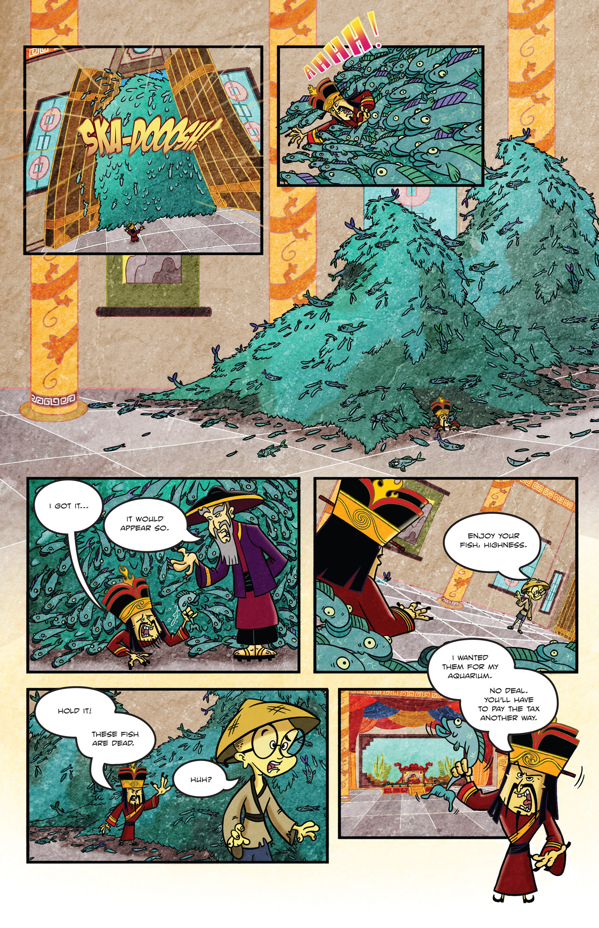 Read online 1001 Nights comic -  Issue #1 - 14