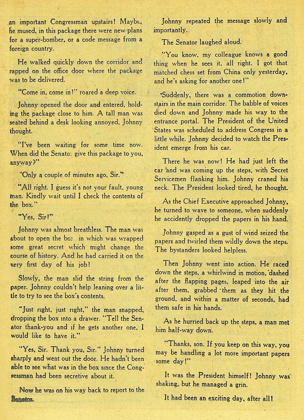 Read online Adventure Comics (1938) comic -  Issue #136 - 36