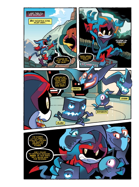 Read online Sonic Comics Spectacular: Speed of Sound comic -  Issue # Full - 219