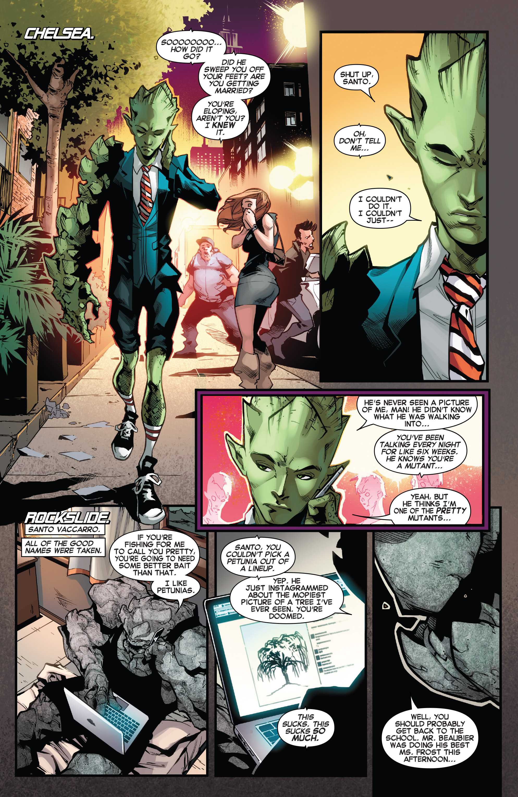 Read online Amazing X-Men (2014) comic -  Issue #13 - 7