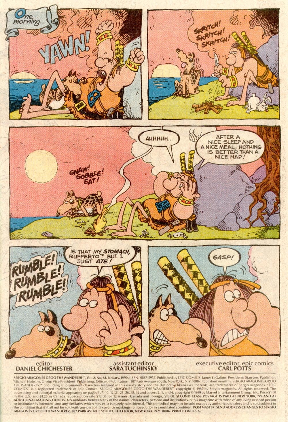 Read online Sergio Aragonés Groo the Wanderer comic -  Issue #61 - 2