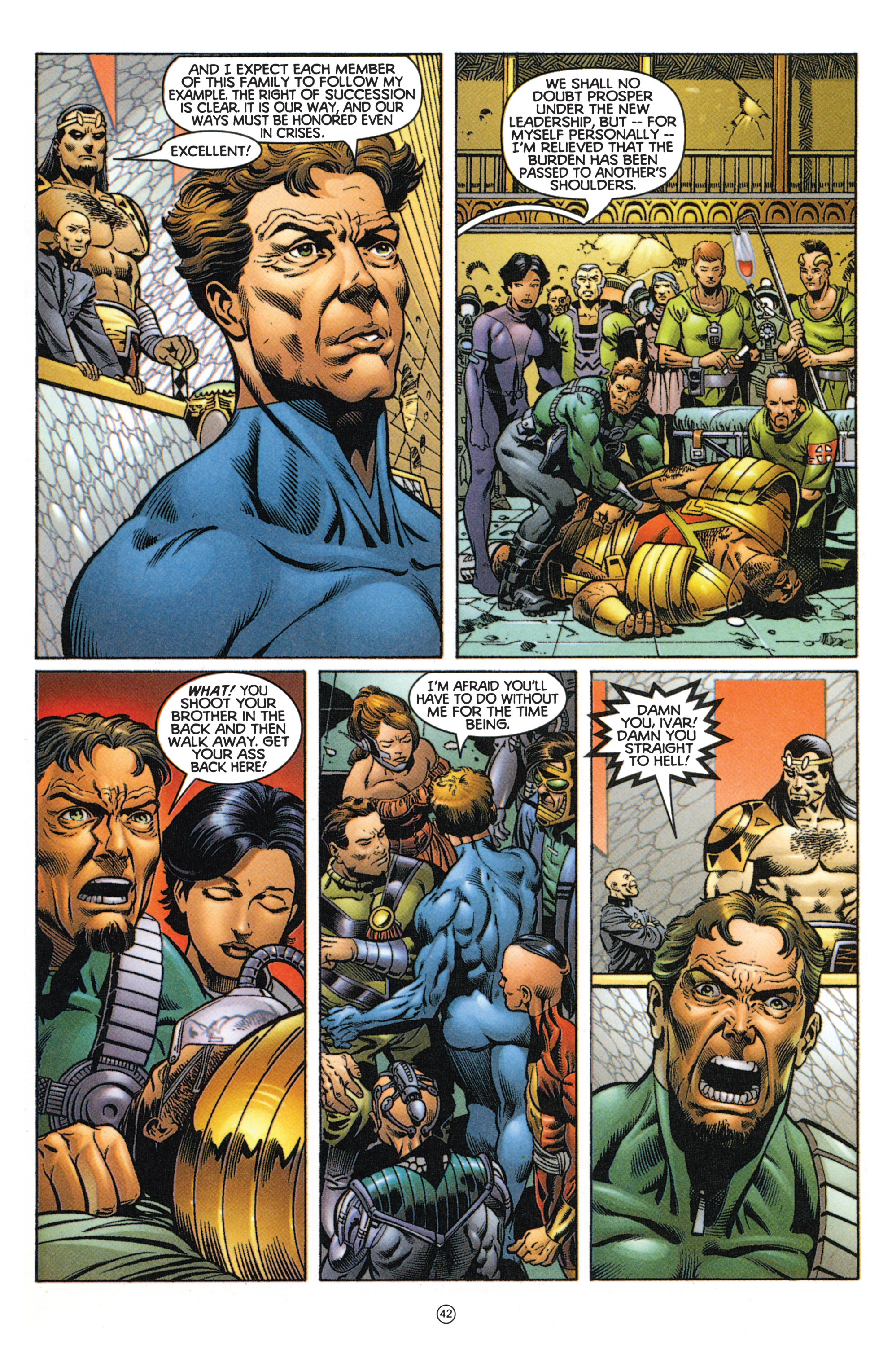 Read online Eternal Warriors comic -  Issue # Issue Mog - 37