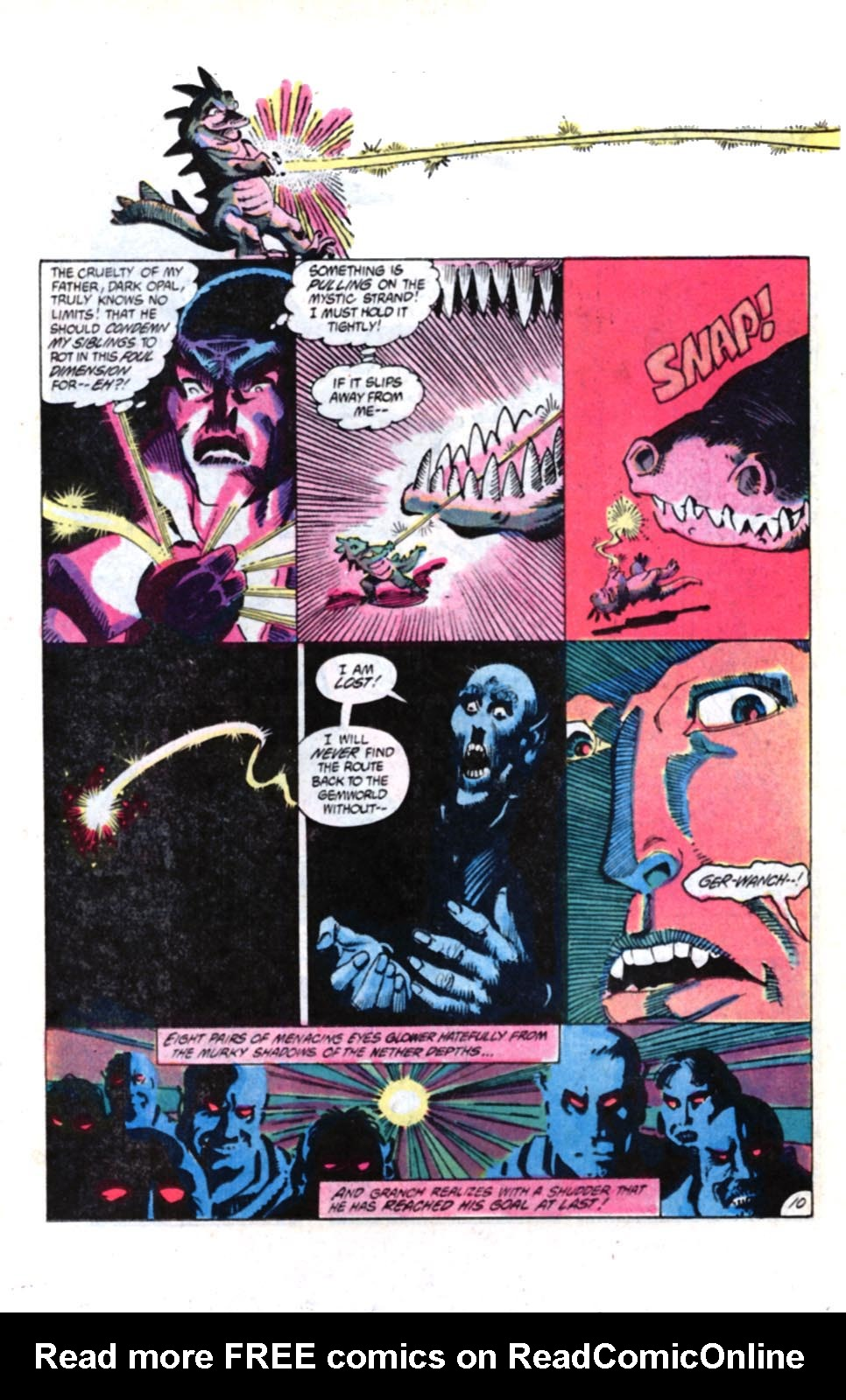 Read online Amethyst, Princess of Gemworld comic -  Issue #4 - 11