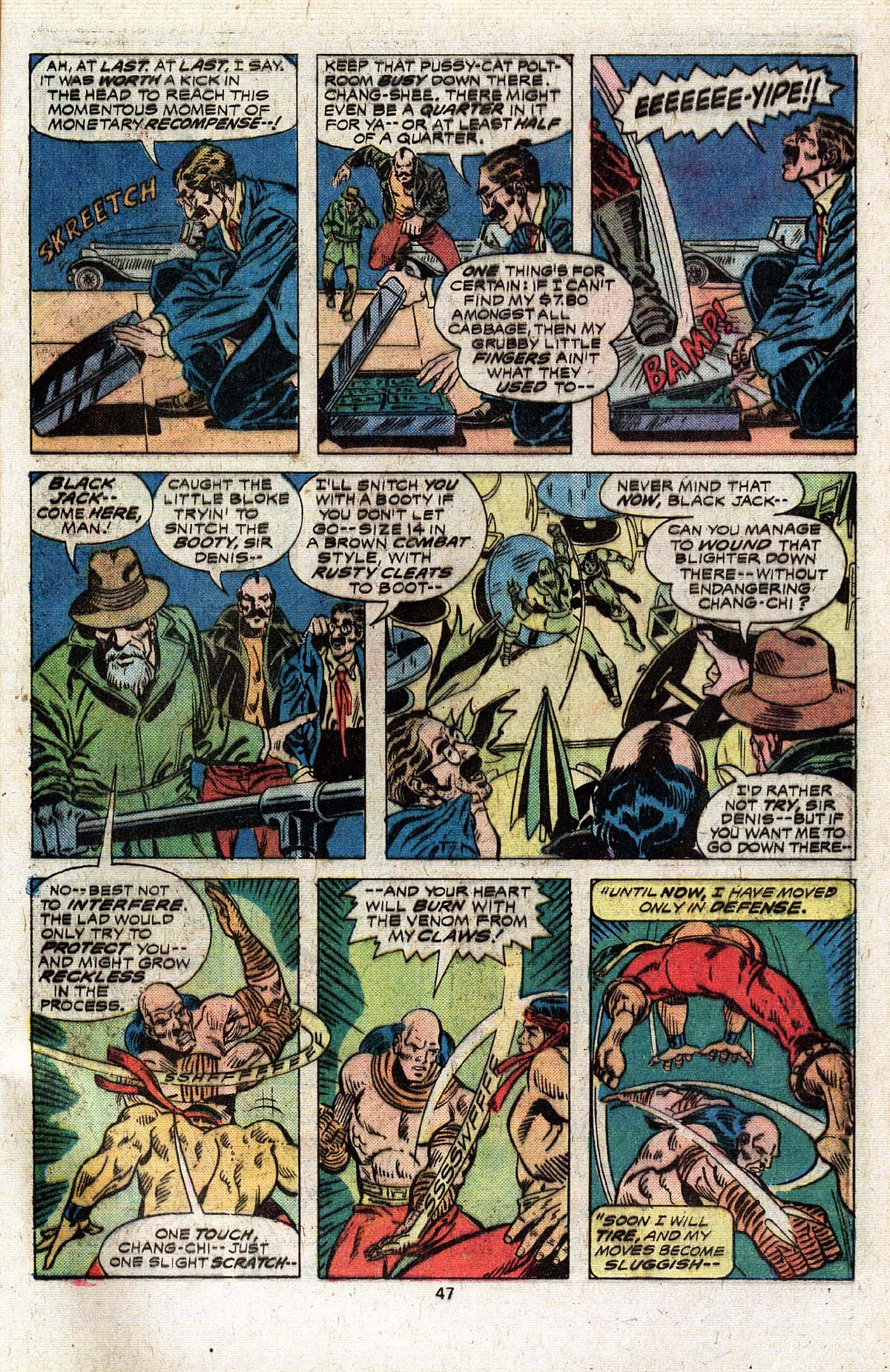 Read online Giant-Size Master of Kung Fu comic -  Issue #4 - 39